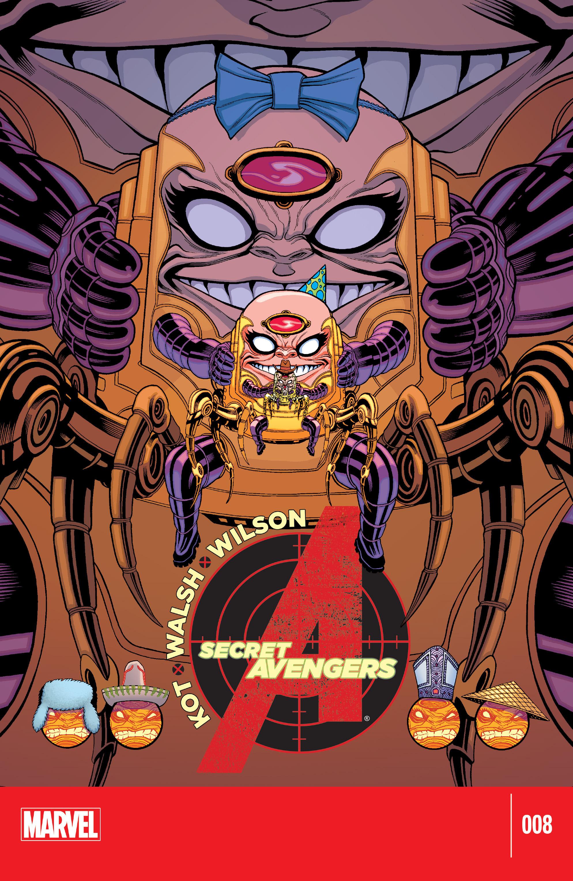 Read online Secret Avengers (2014) comic -  Issue #8 - 1