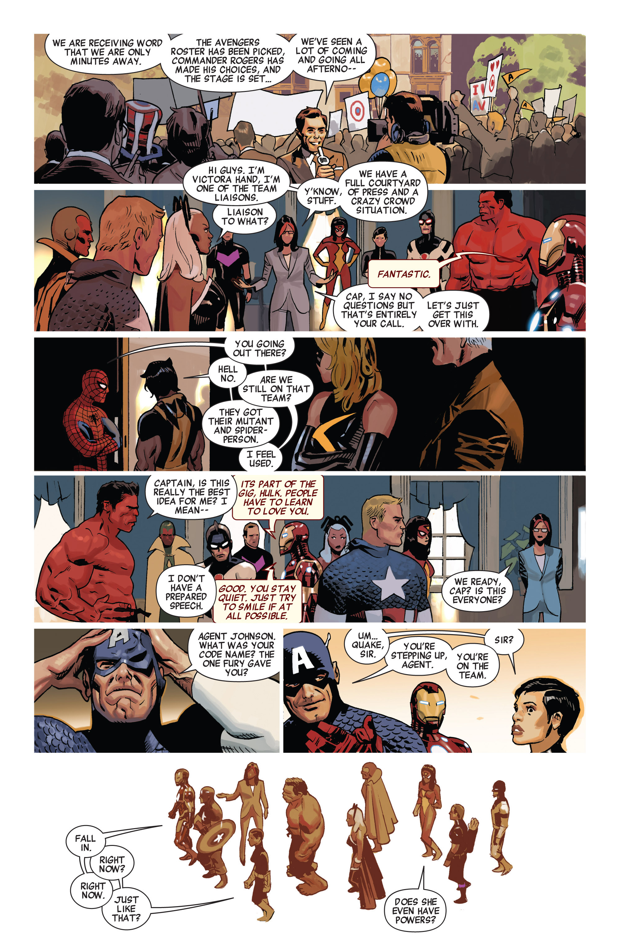 Read online Avengers (2010) comic -  Issue #19 - 19