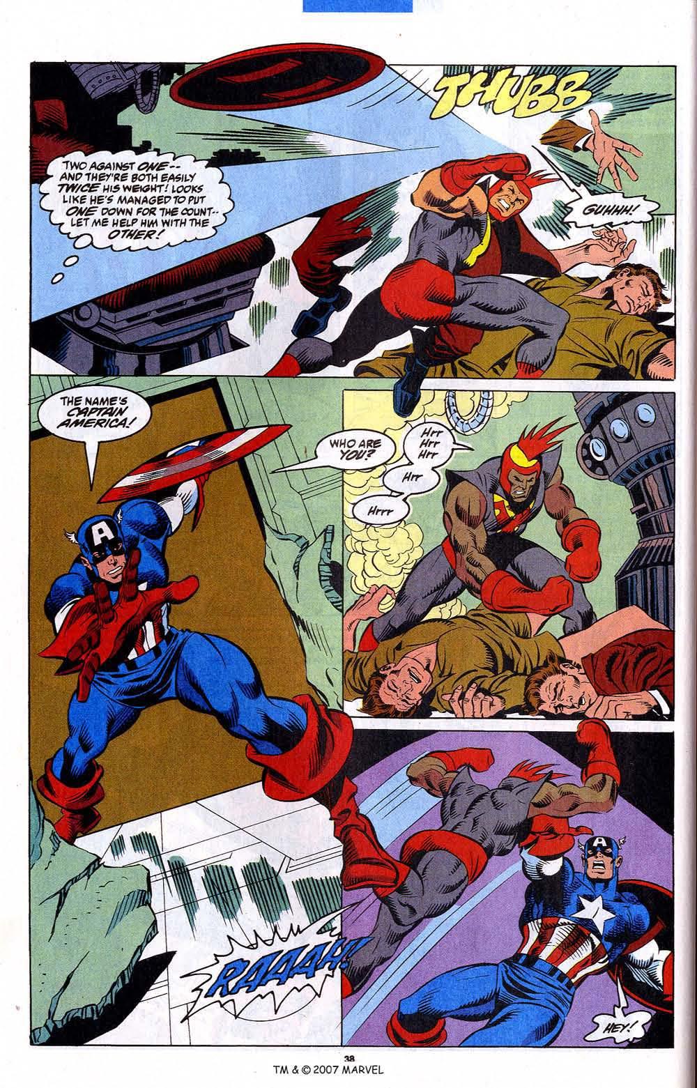Read online Captain America (1968) comic -  Issue # _Annual 12 - 40