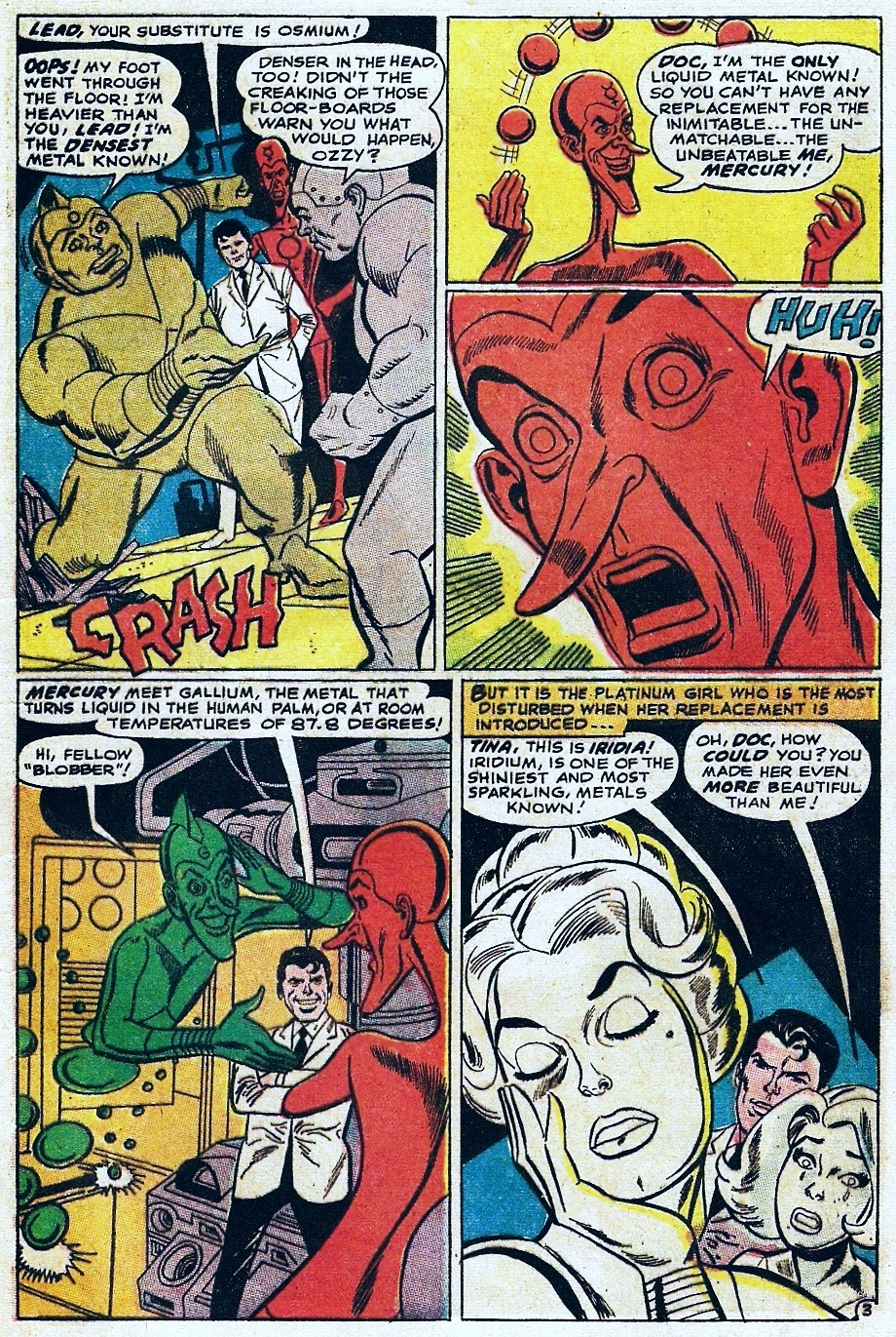 Metal Men (1963) issue 31 - Page 5