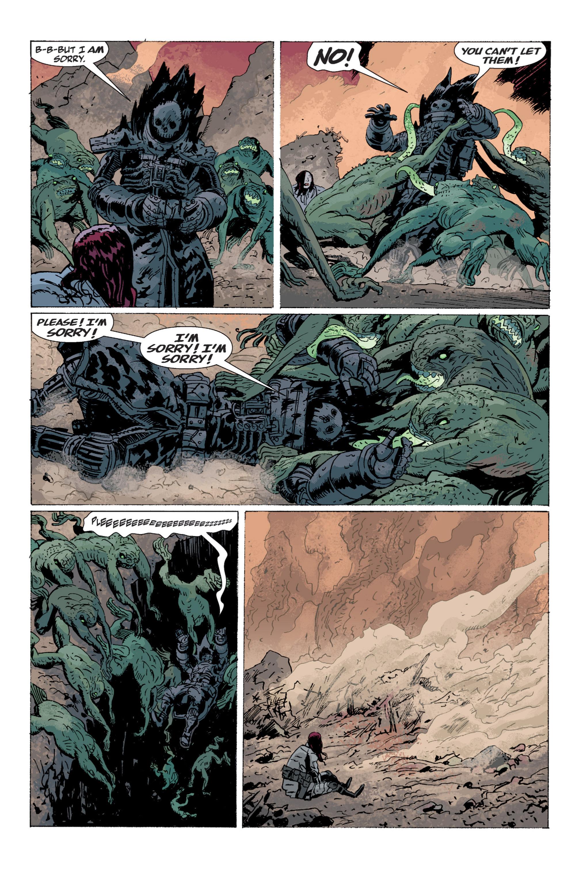 Read online B.P.R.D. (2003) comic -  Issue # TPB 5 - 154