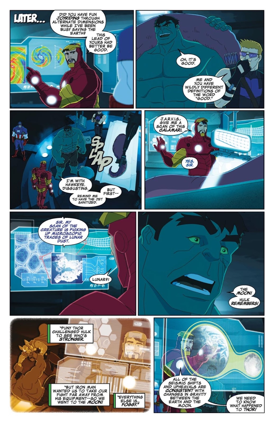 Read online Marvel Universe Avengers Assemble Season 2 comic -  Issue #3 - 12