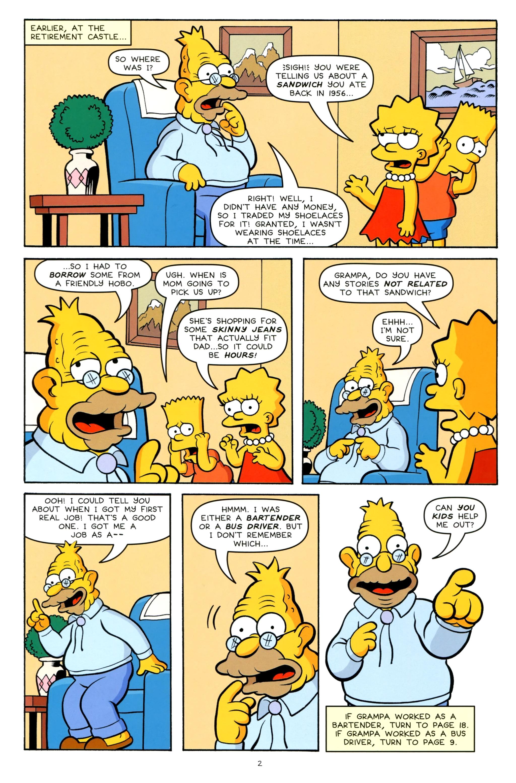 Read online Simpsons One-Shot Wonders: Grampa comic -  Issue # Full - 4