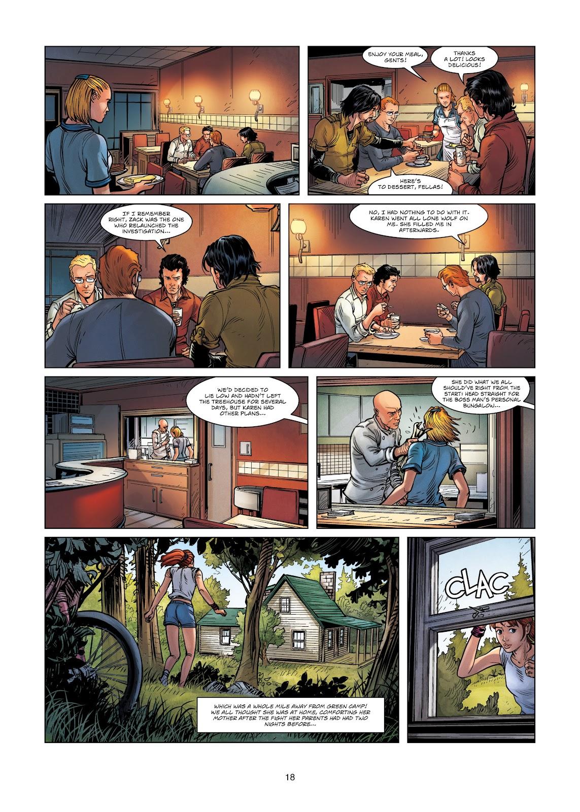 Read online Vigilantes comic -  Issue #3 - 18