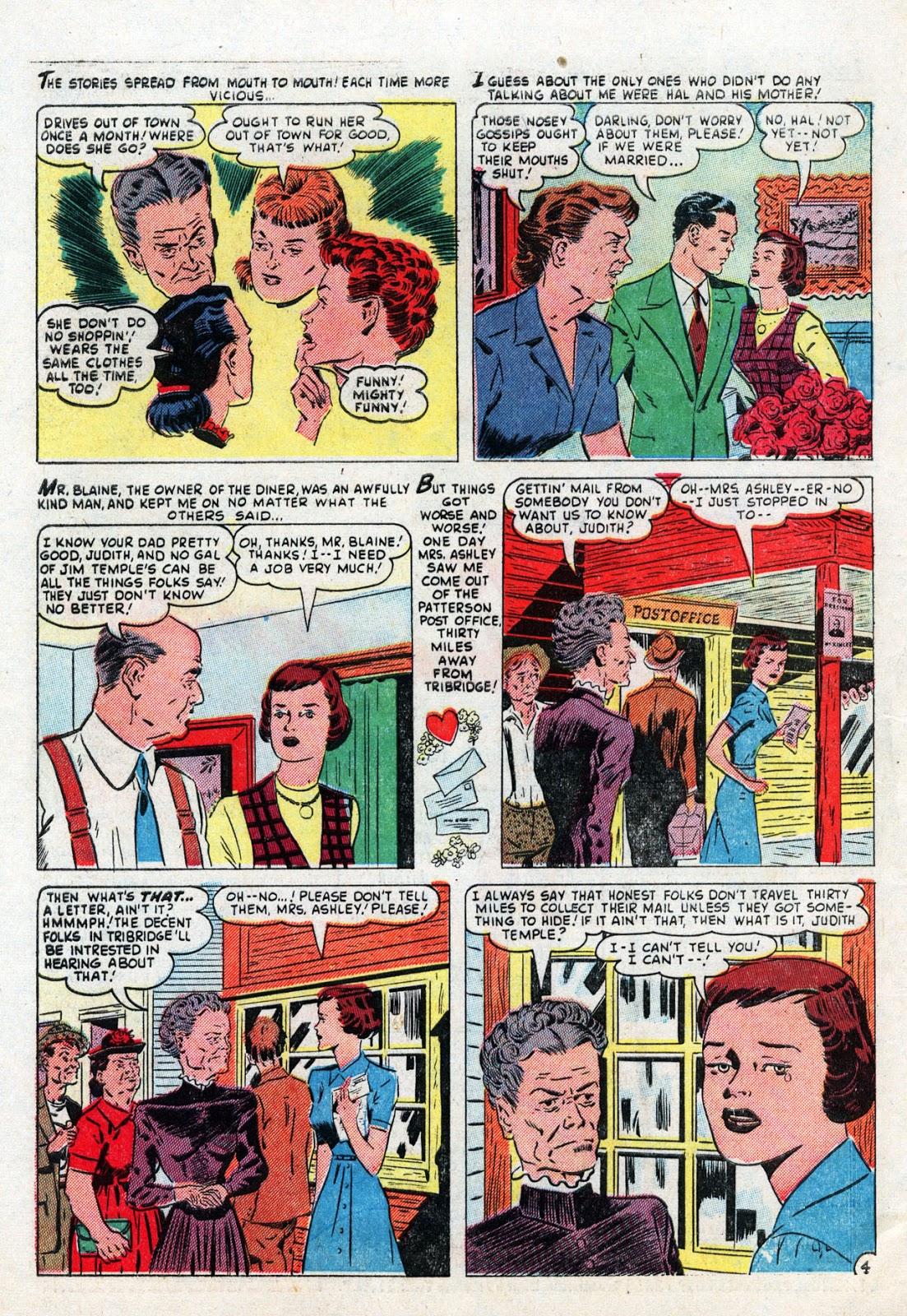Love Romances (1949) issue 19 - Page 30