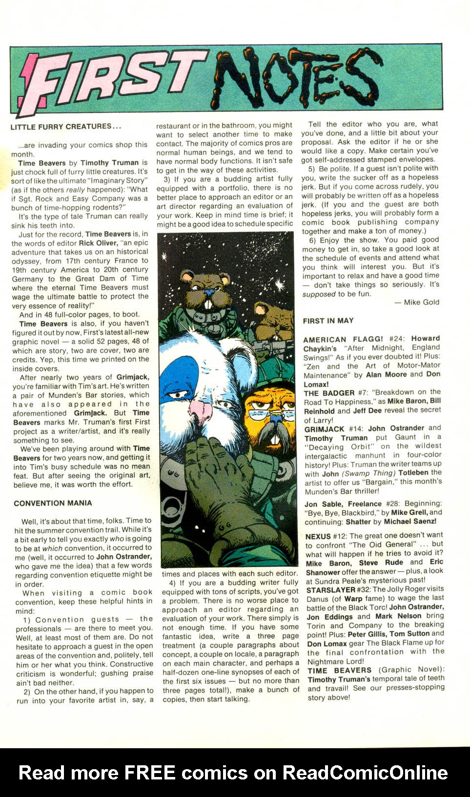 Read online American Flagg! comic -  Issue #24 - 8