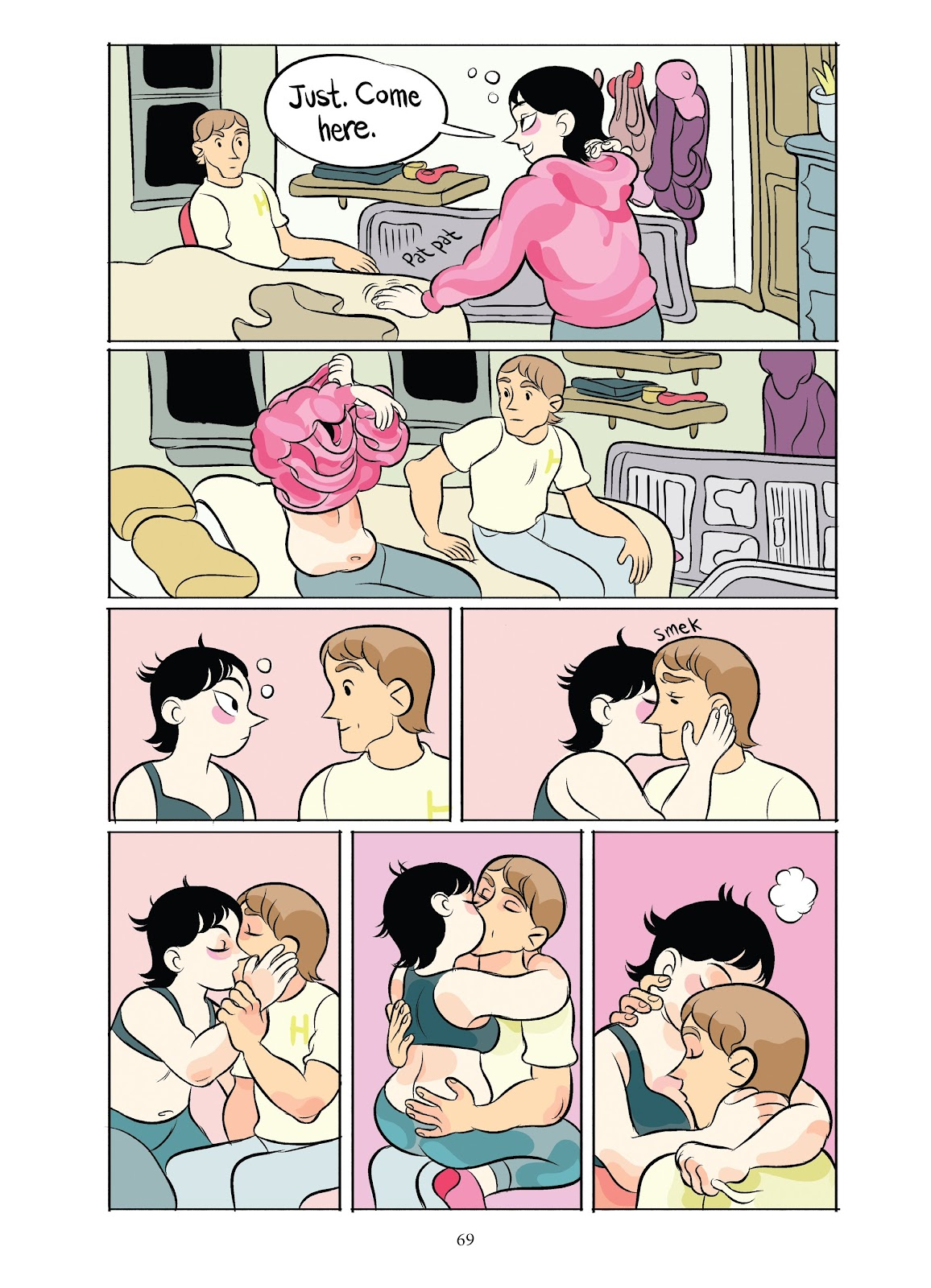 Read online Girl Town comic -  Issue # TPB (Part 1) - 69
