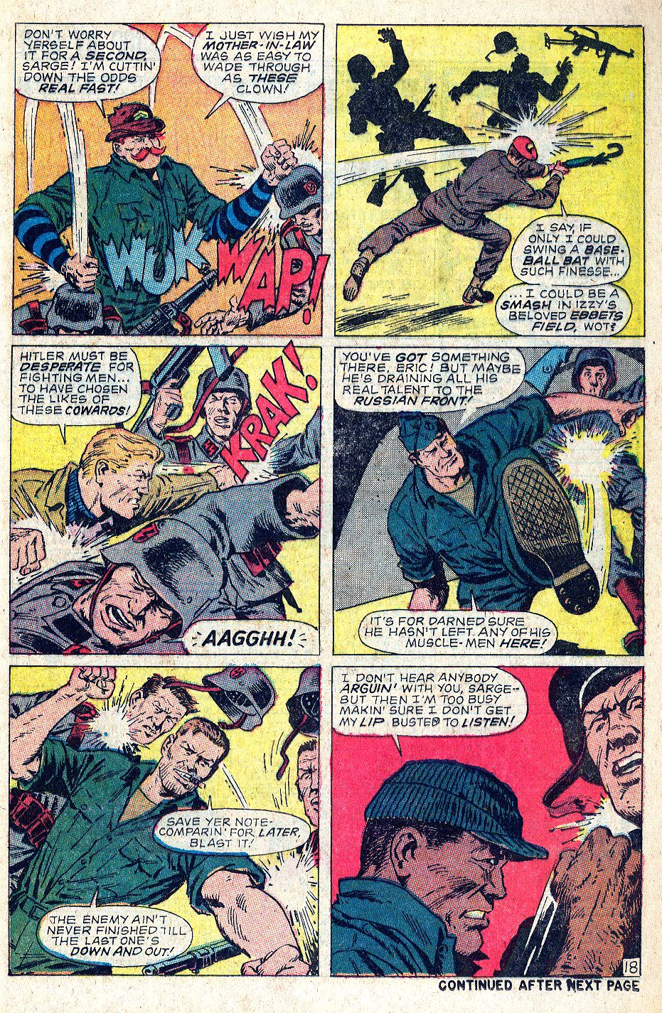 Read online Sgt. Fury comic -  Issue #56 - 25