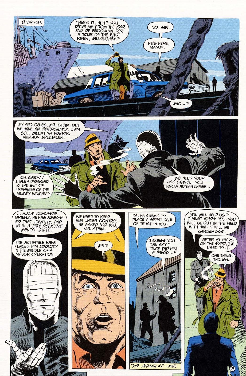 Vigilante (1983) issue 37 - Page 20