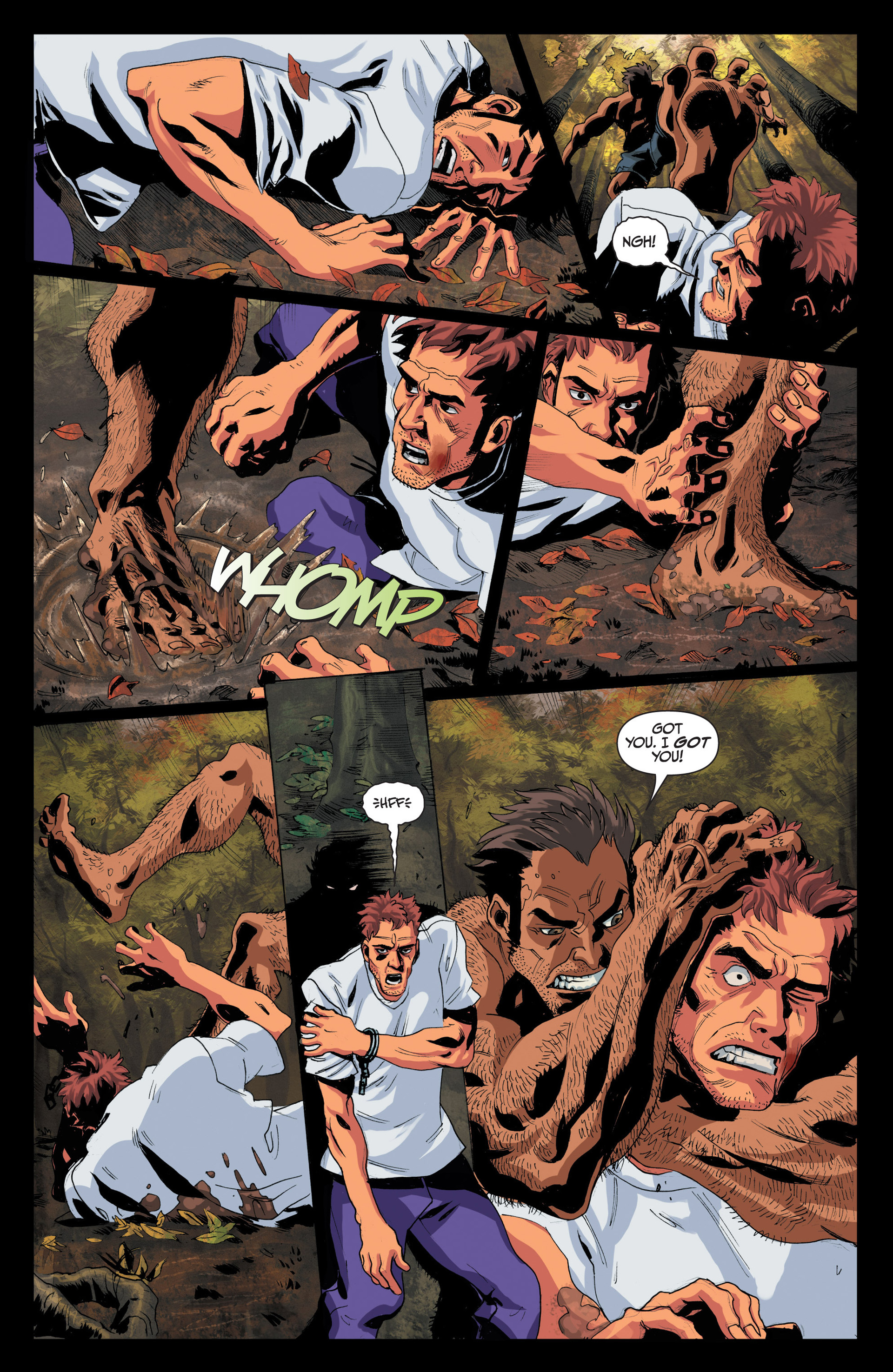 Read online Jim Butcher's The Dresden Files: Fool Moon comic -  Issue #4 - 9