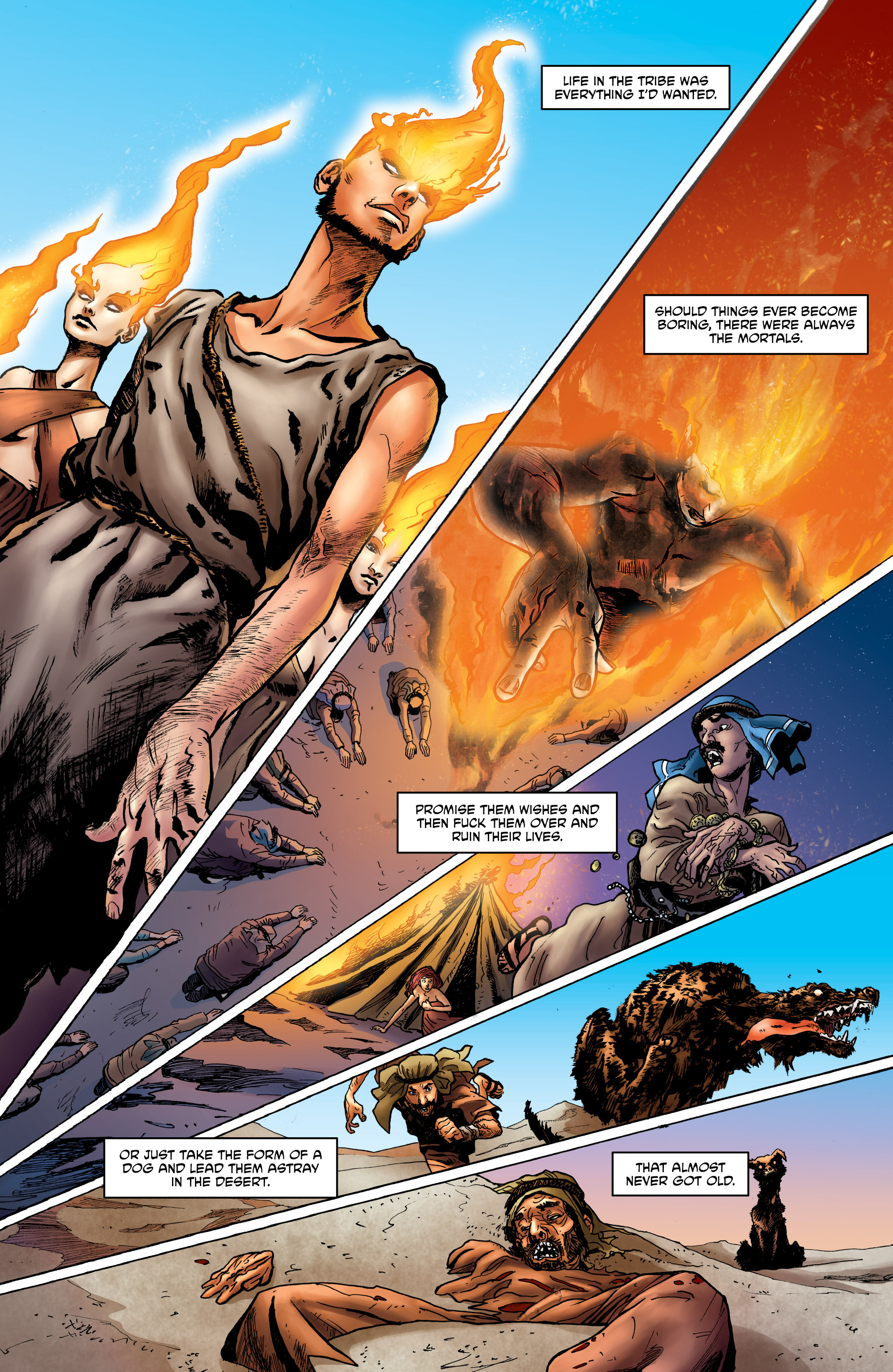 Read online God is Dead: Book of Acts comic -  Issue # Alpha - 17