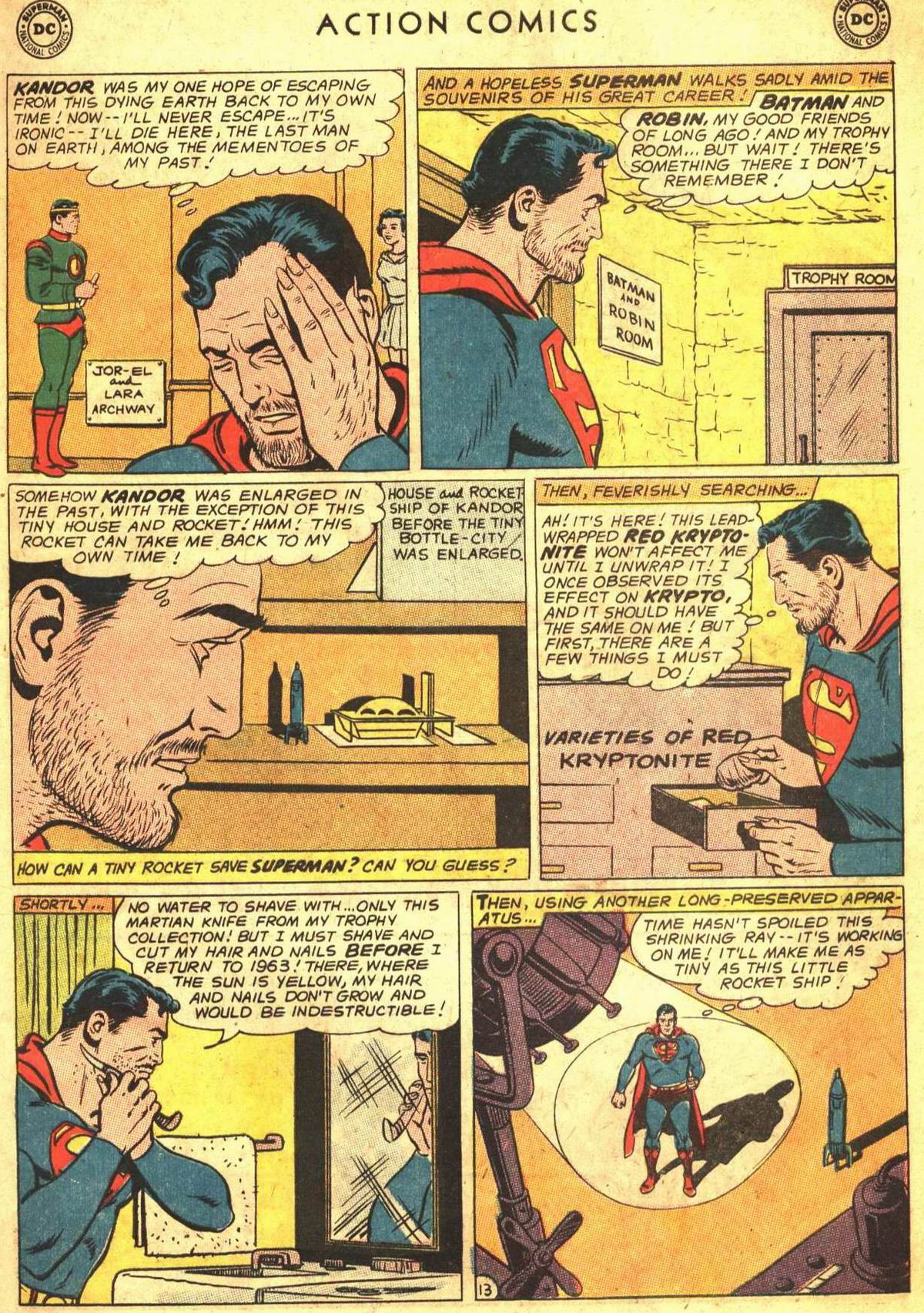 Read online Action Comics (1938) comic -  Issue #300 - 15