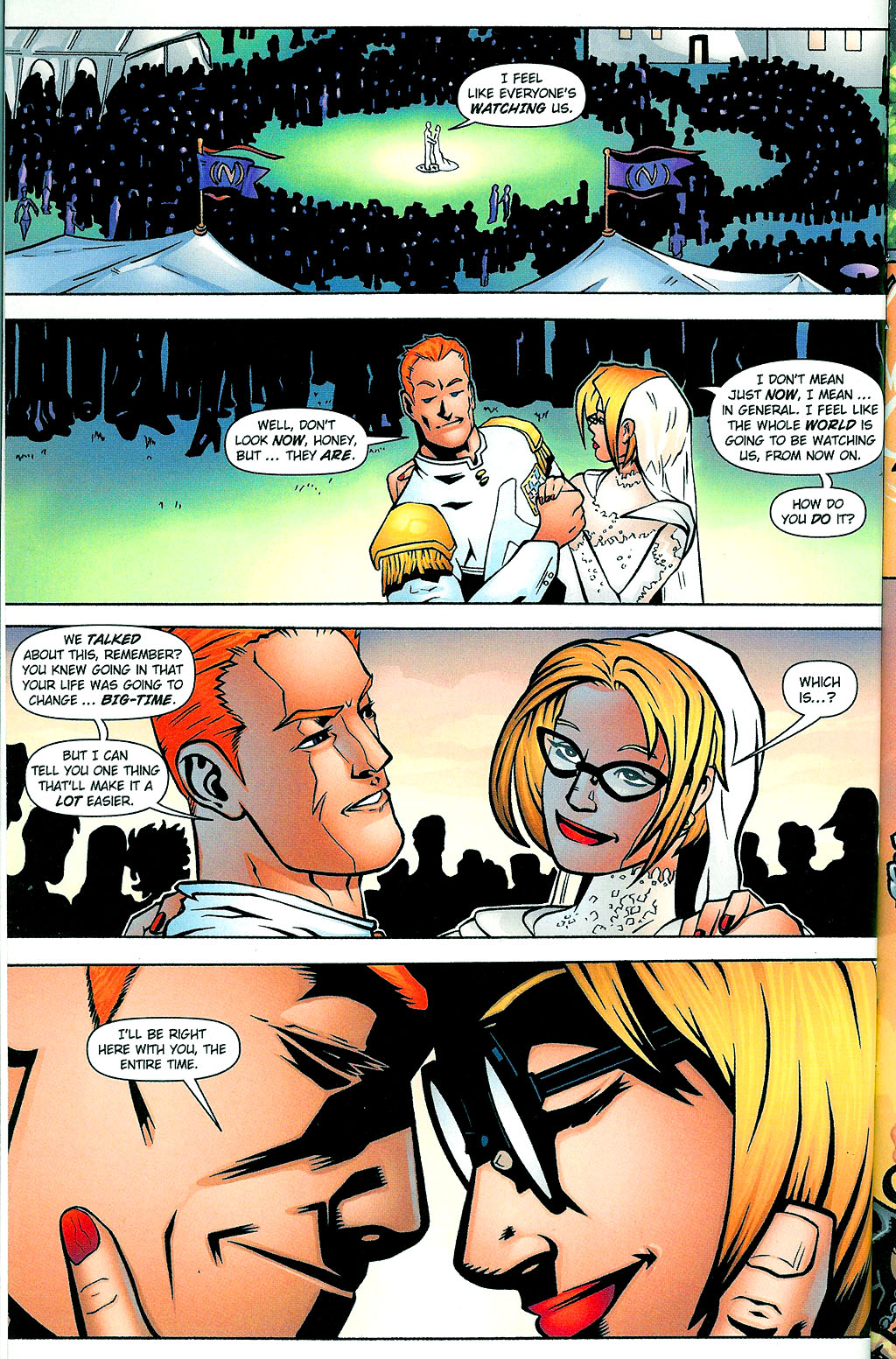 Read online Noble Causes (2002) comic -  Issue #1 - 10
