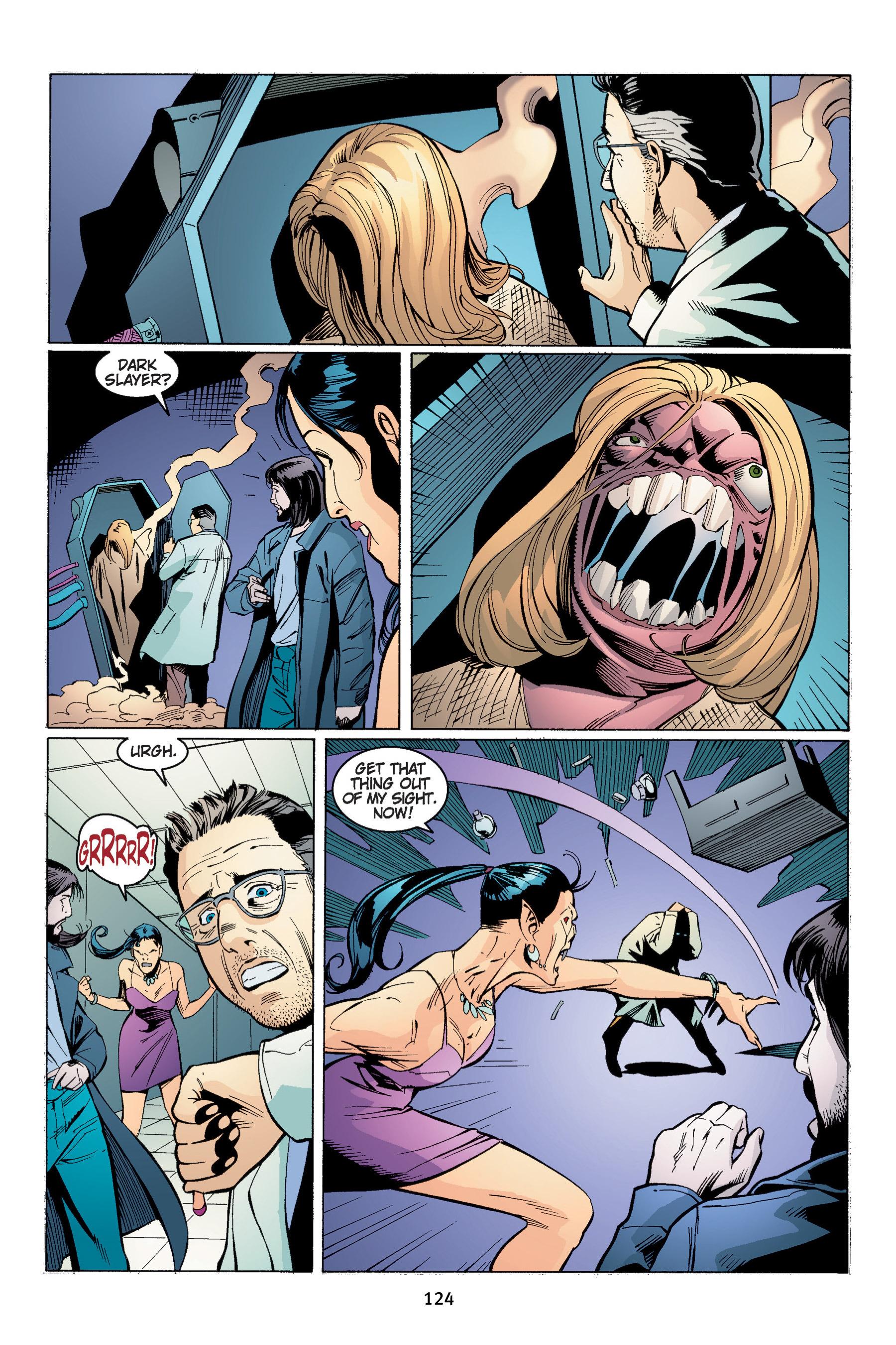 Read online Buffy the Vampire Slayer: Omnibus comic -  Issue # TPB 4 - 125