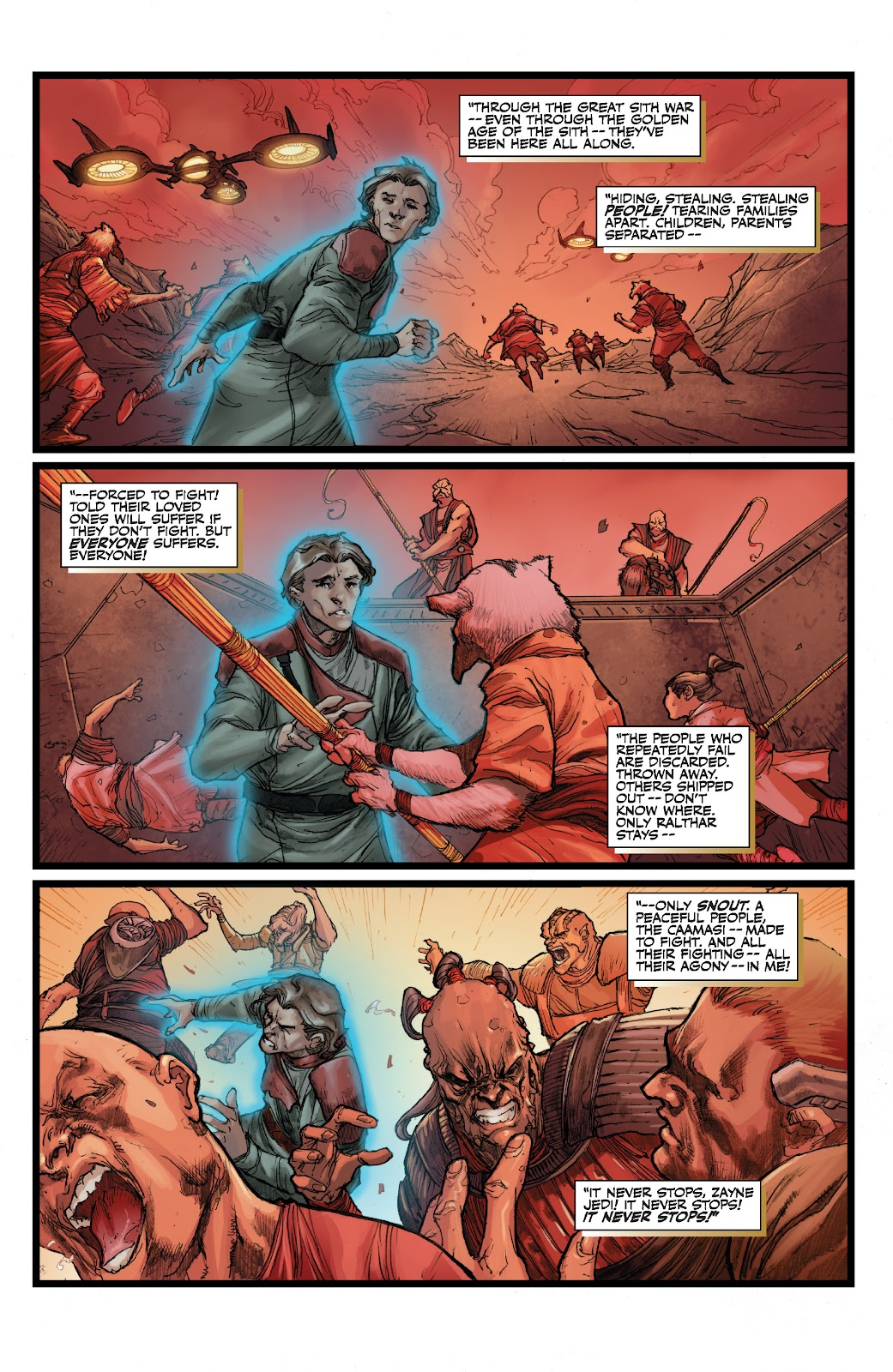 Read online Star Wars Legends: The Old Republic - Epic Collection comic -  Issue # TPB 3 (Part 2) - 83