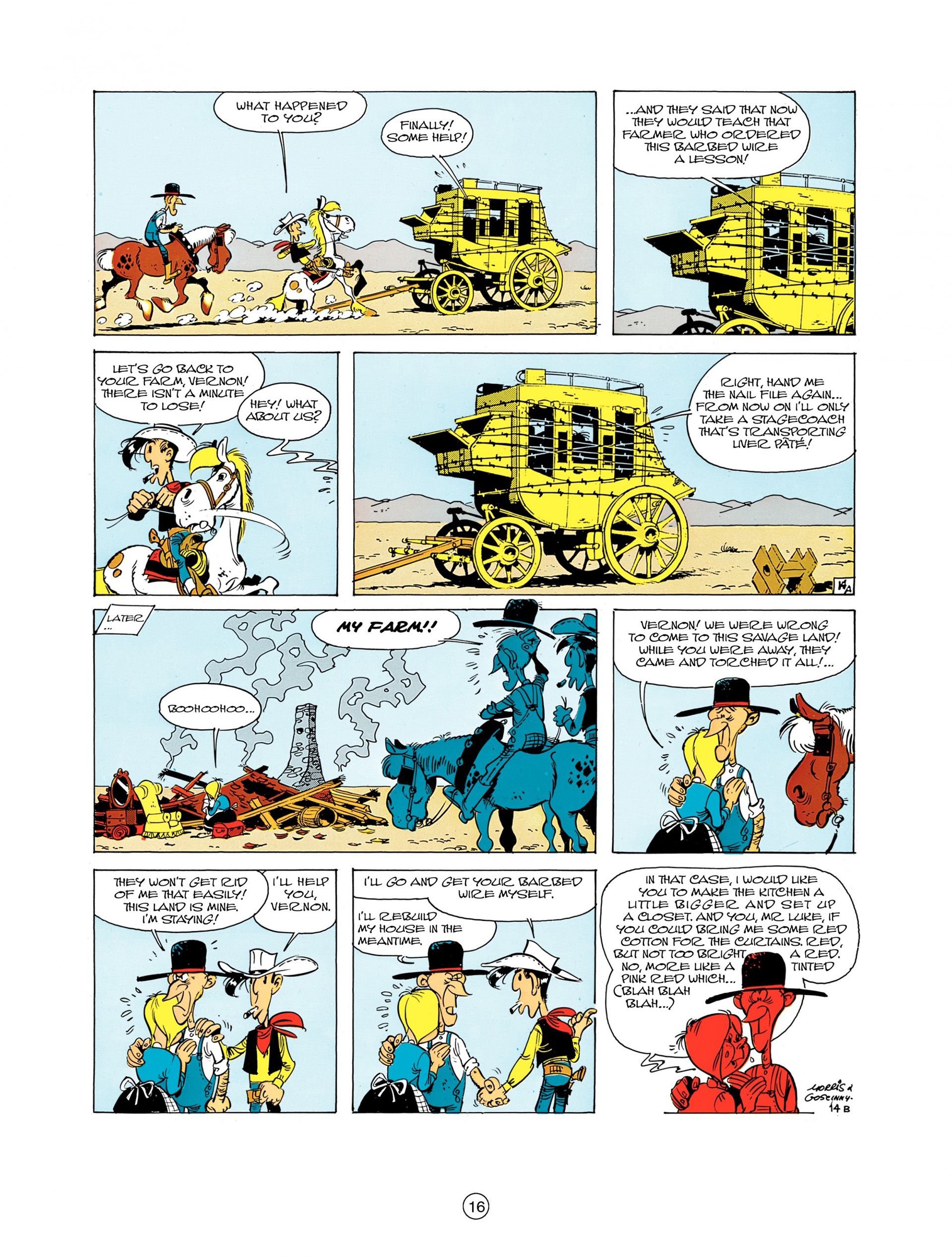 Read online A Lucky Luke Adventure comic -  Issue #7 - 16