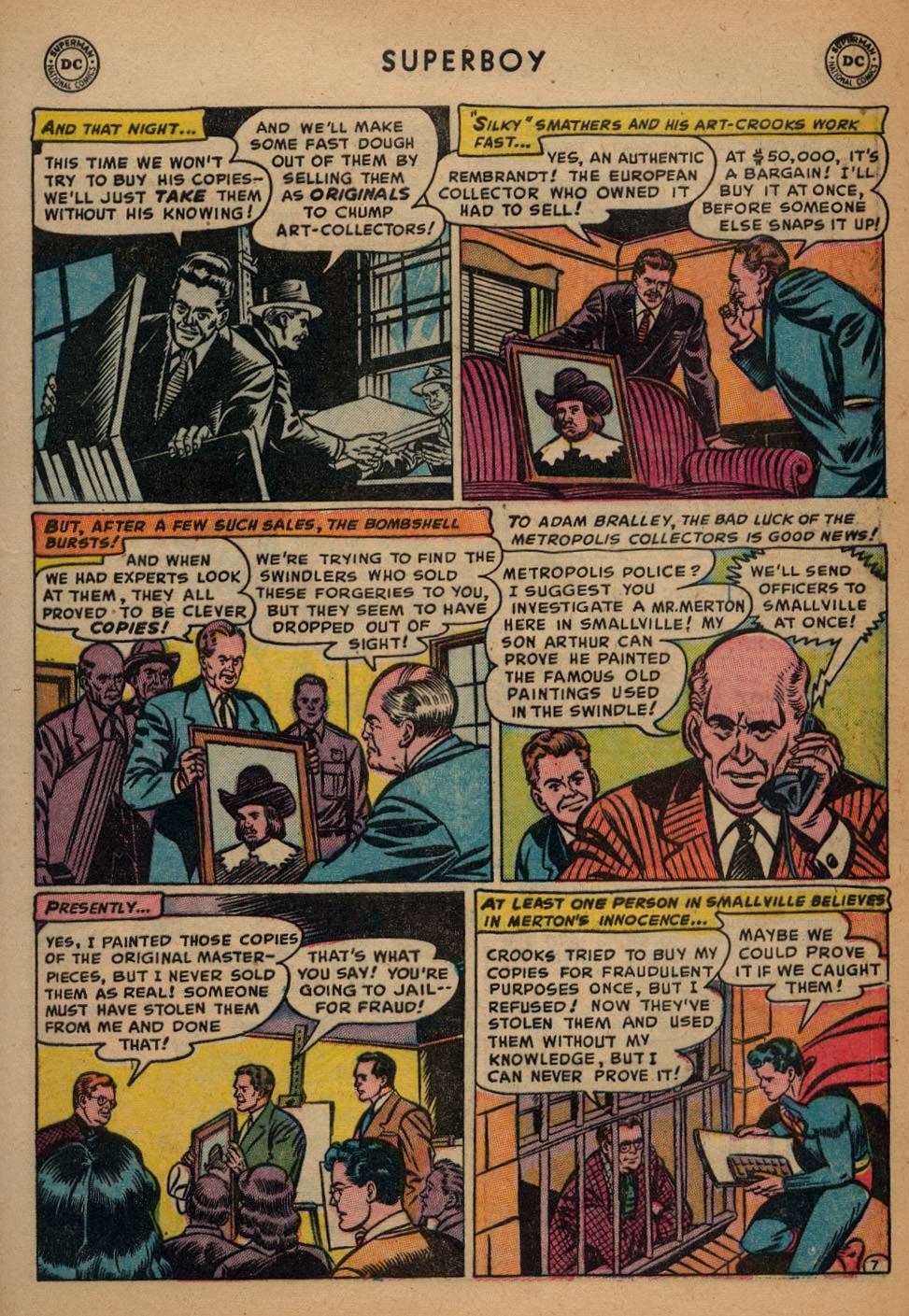 Superboy (1949) issue 25 - Page 8