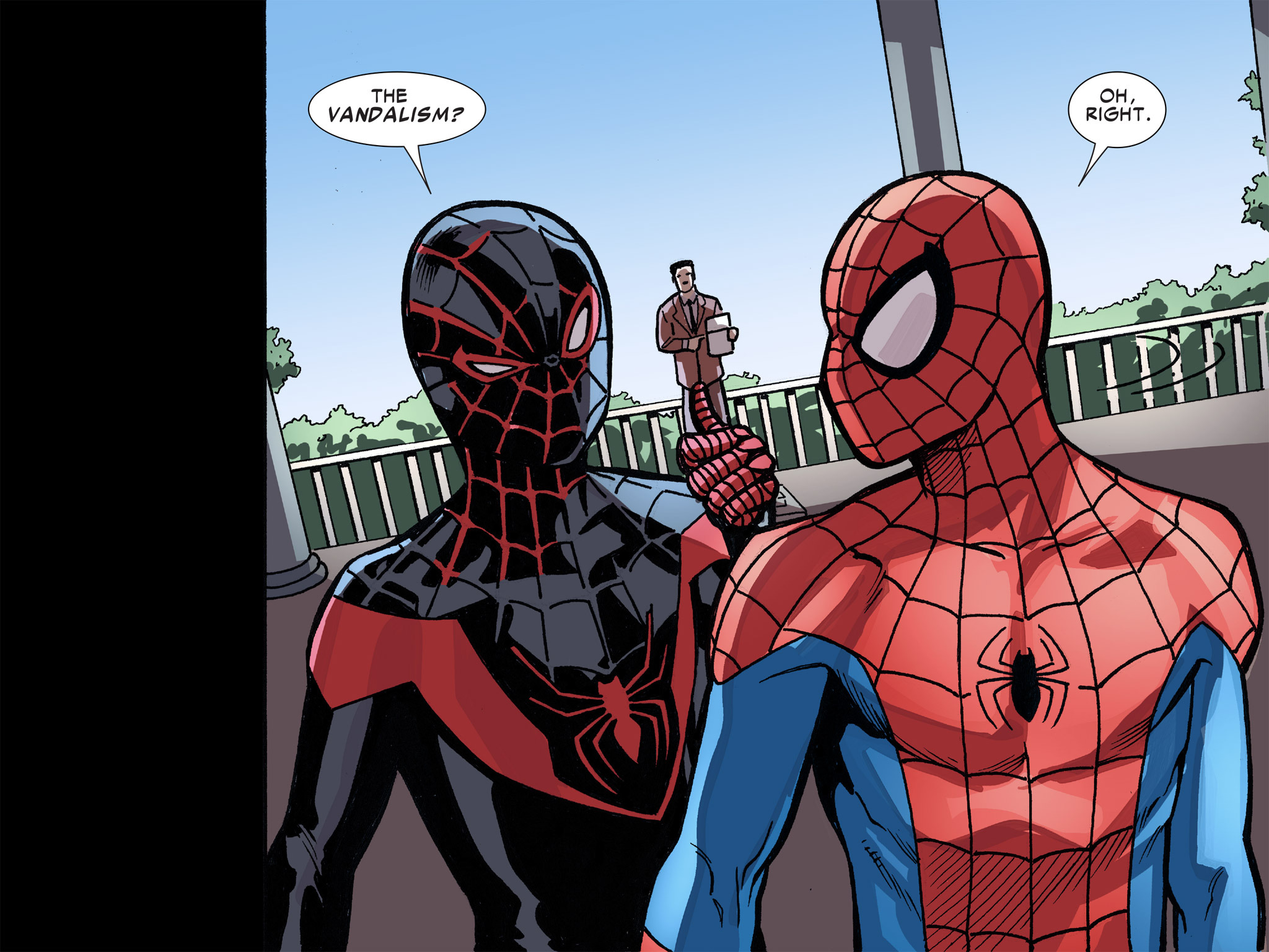Read online Ultimate Spider-Man (Infinite Comics) (2016) comic -  Issue #8 - 55