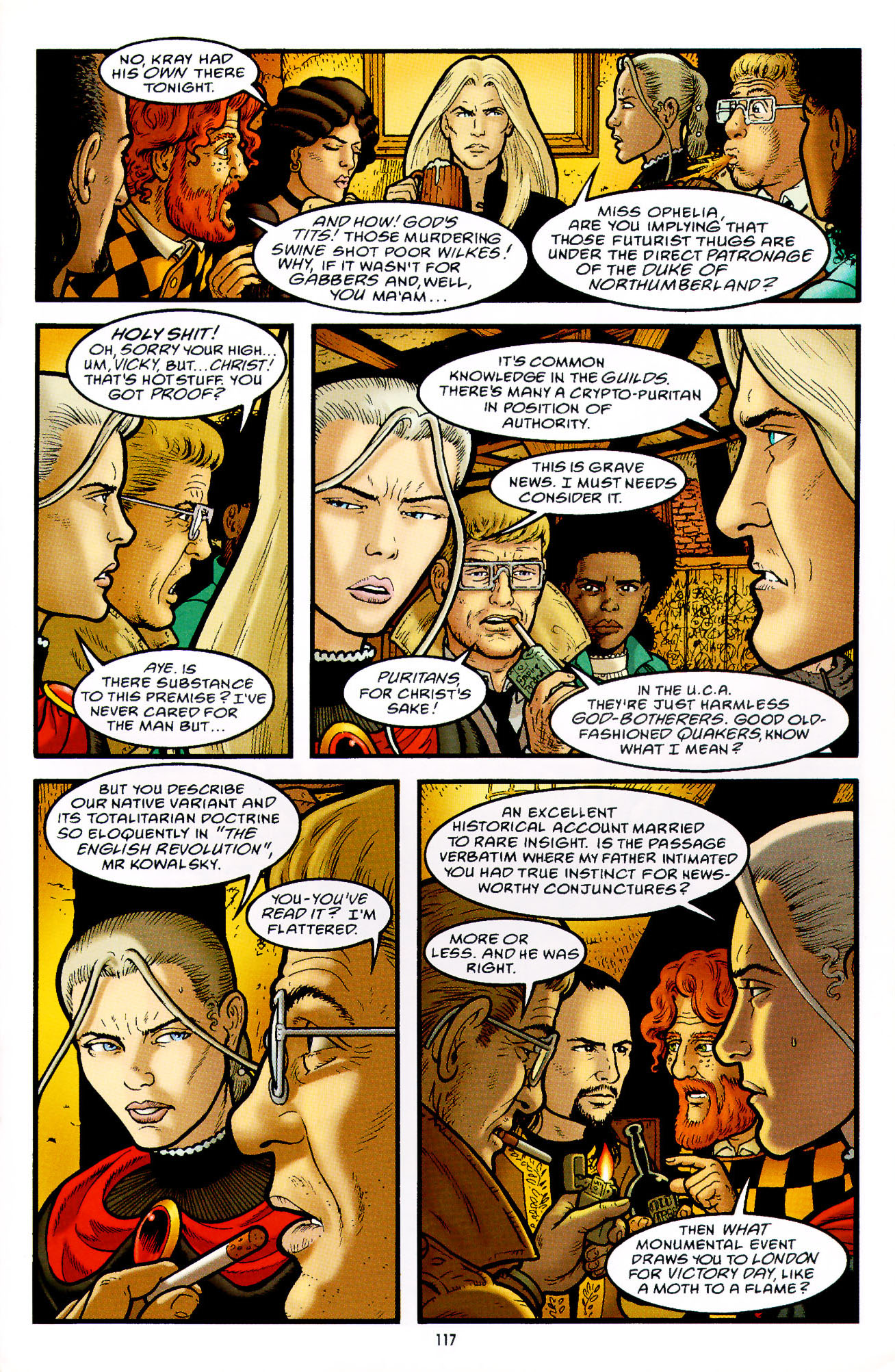 Read online Heart of Empire comic -  Issue #4 - 21