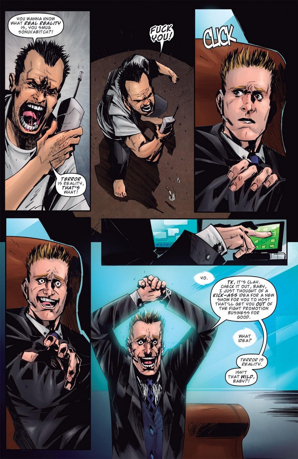 Read online Dead Rising: Road to Fortune comic -  Issue #1 - 21