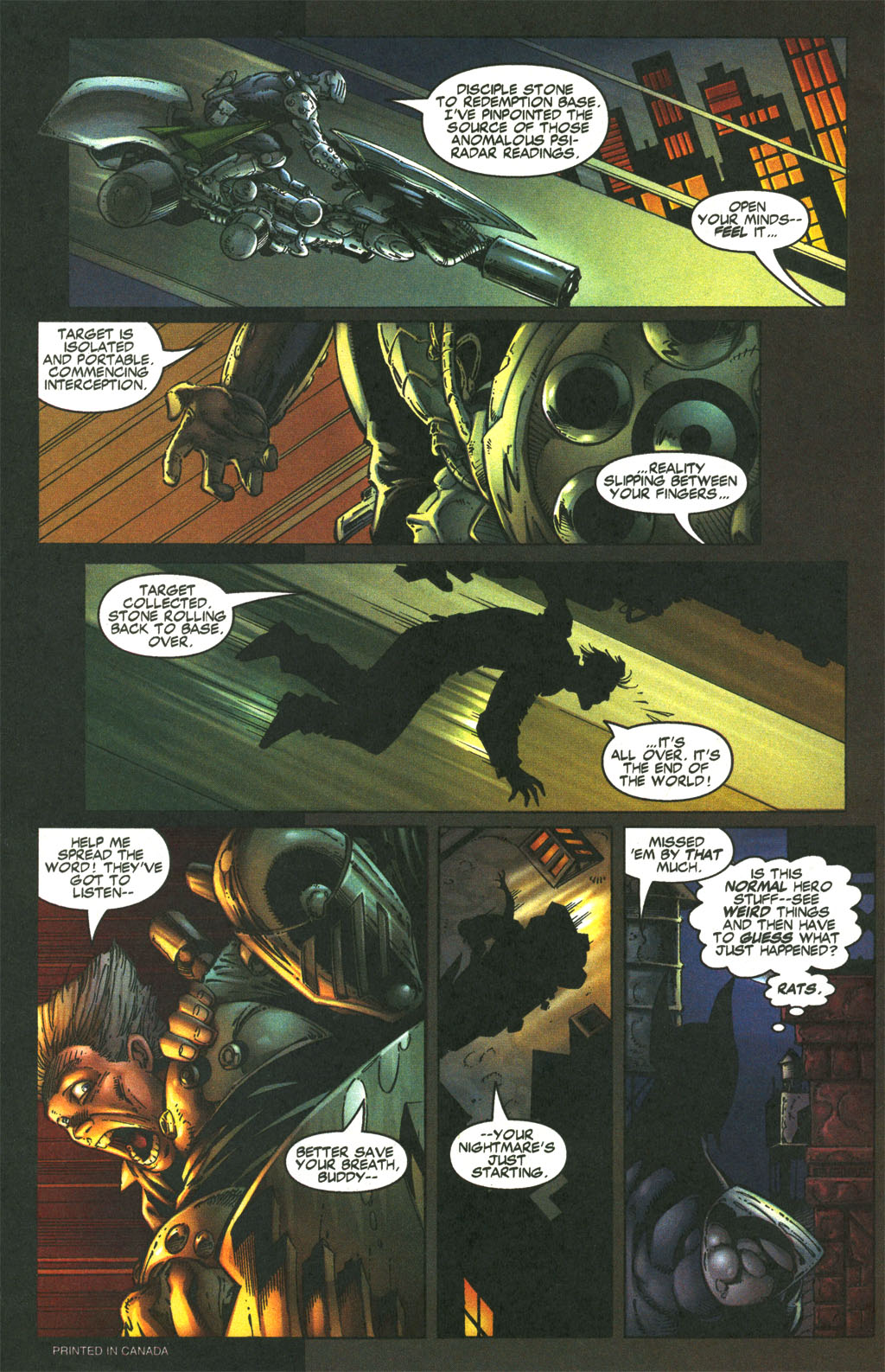 Read online Shattered Image comic -  Issue #1 - 3