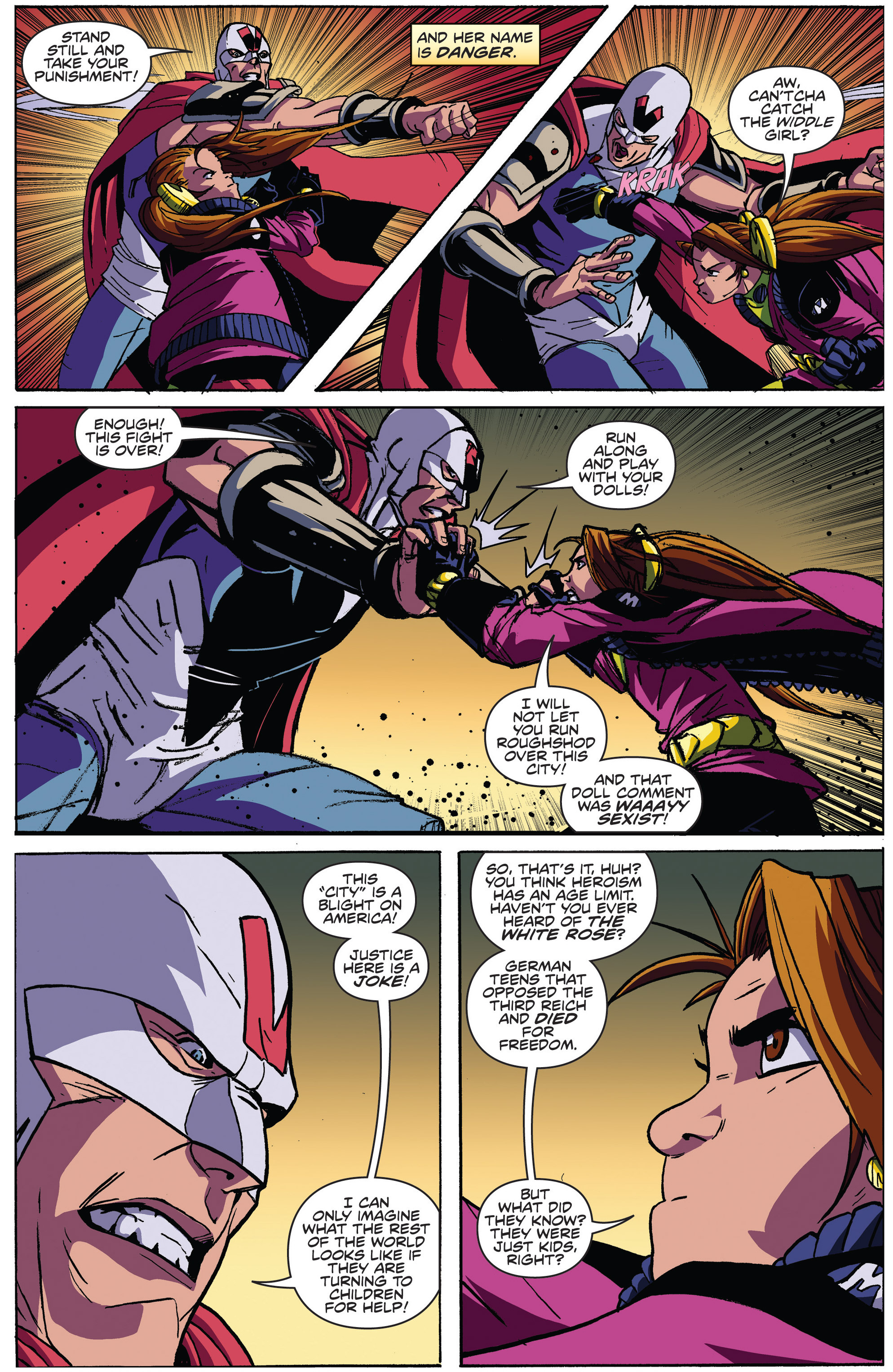 Read online Actionverse comic -  Issue #4 - 15