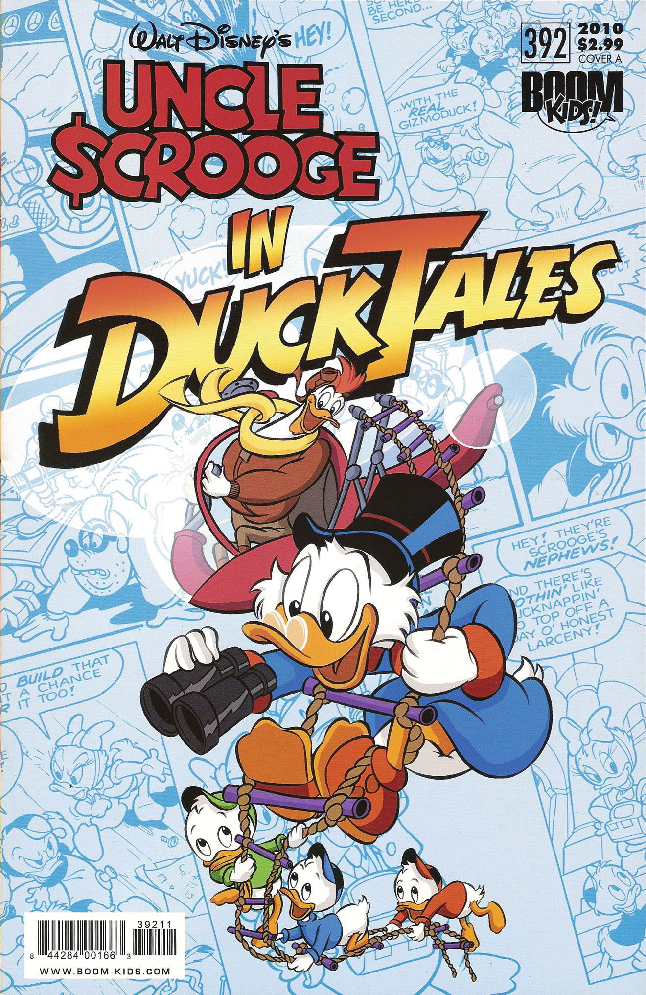 Read online Uncle Scrooge (1953) comic -  Issue #392 - 1