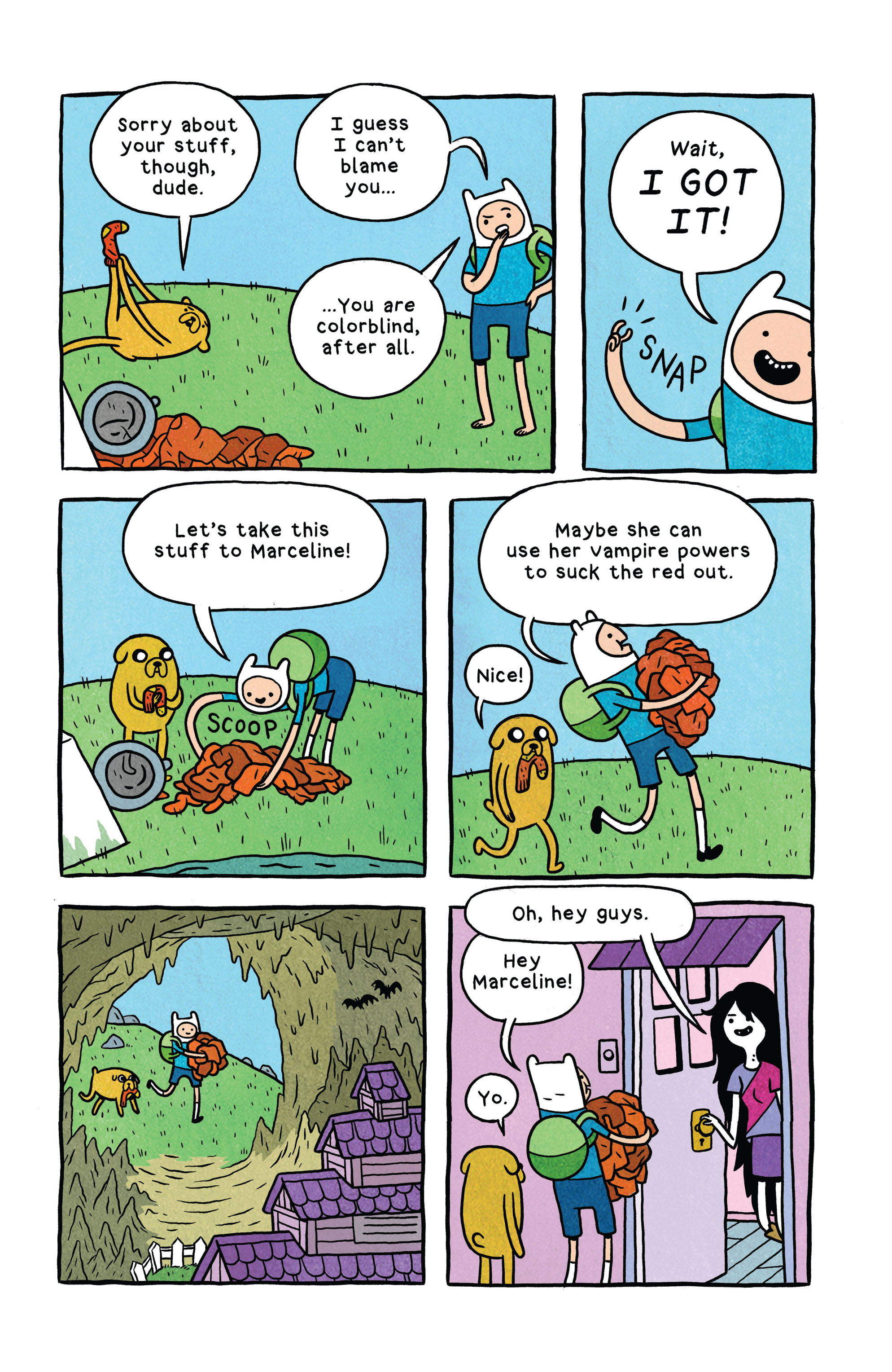Read online Adventure Time comic -  Issue #2 - 23