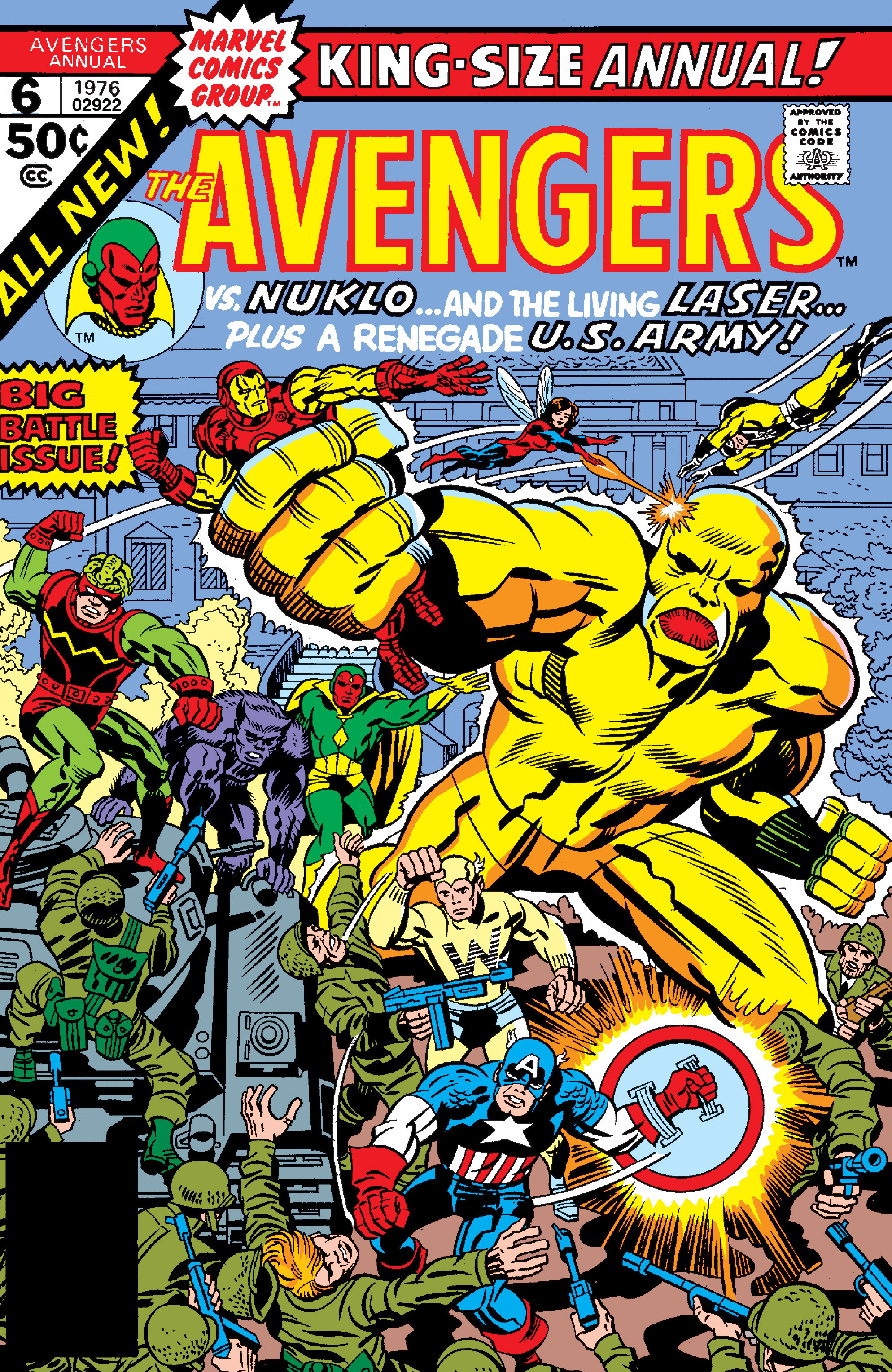 The Avengers (1963) _Annual_6 Page 1