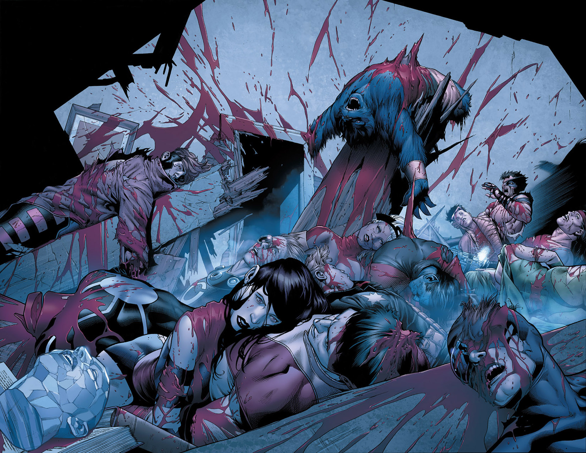 Read online Wolverine: Old Man Logan comic -  Issue # Full - 107