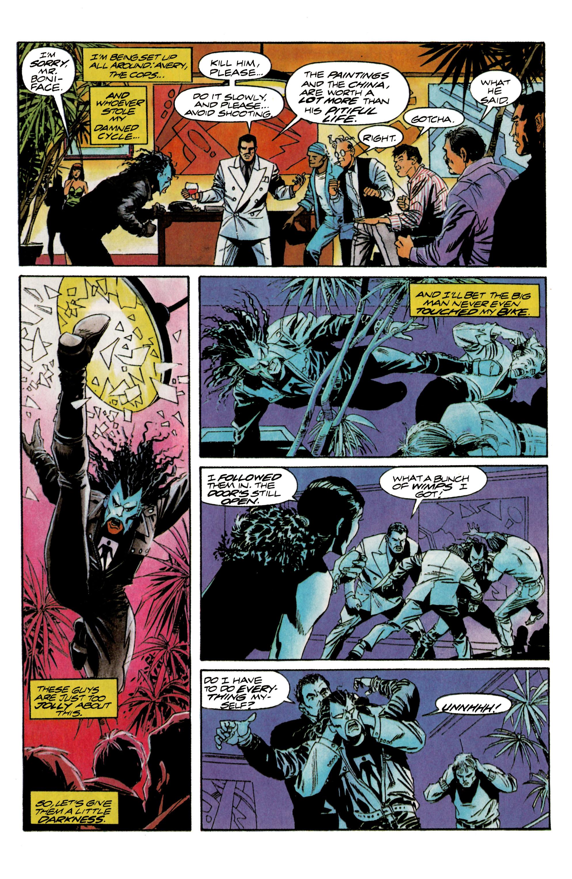 Read online Shadowman (1992) comic -  Issue #16 - 16