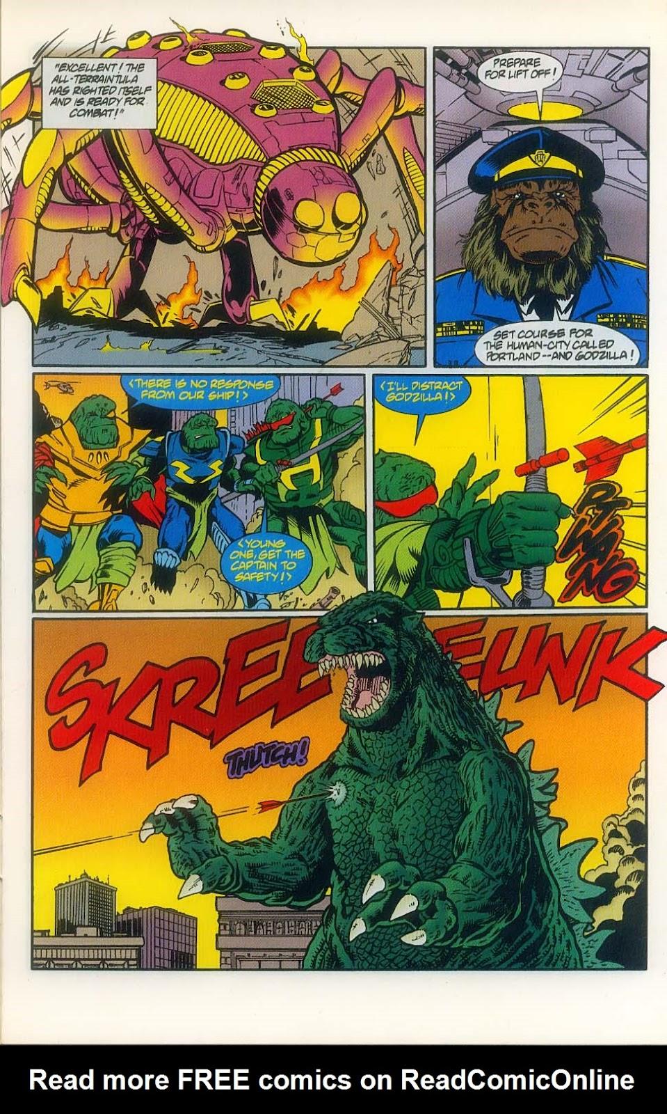 Godzilla (1995) Issue #8 #9 - English 11