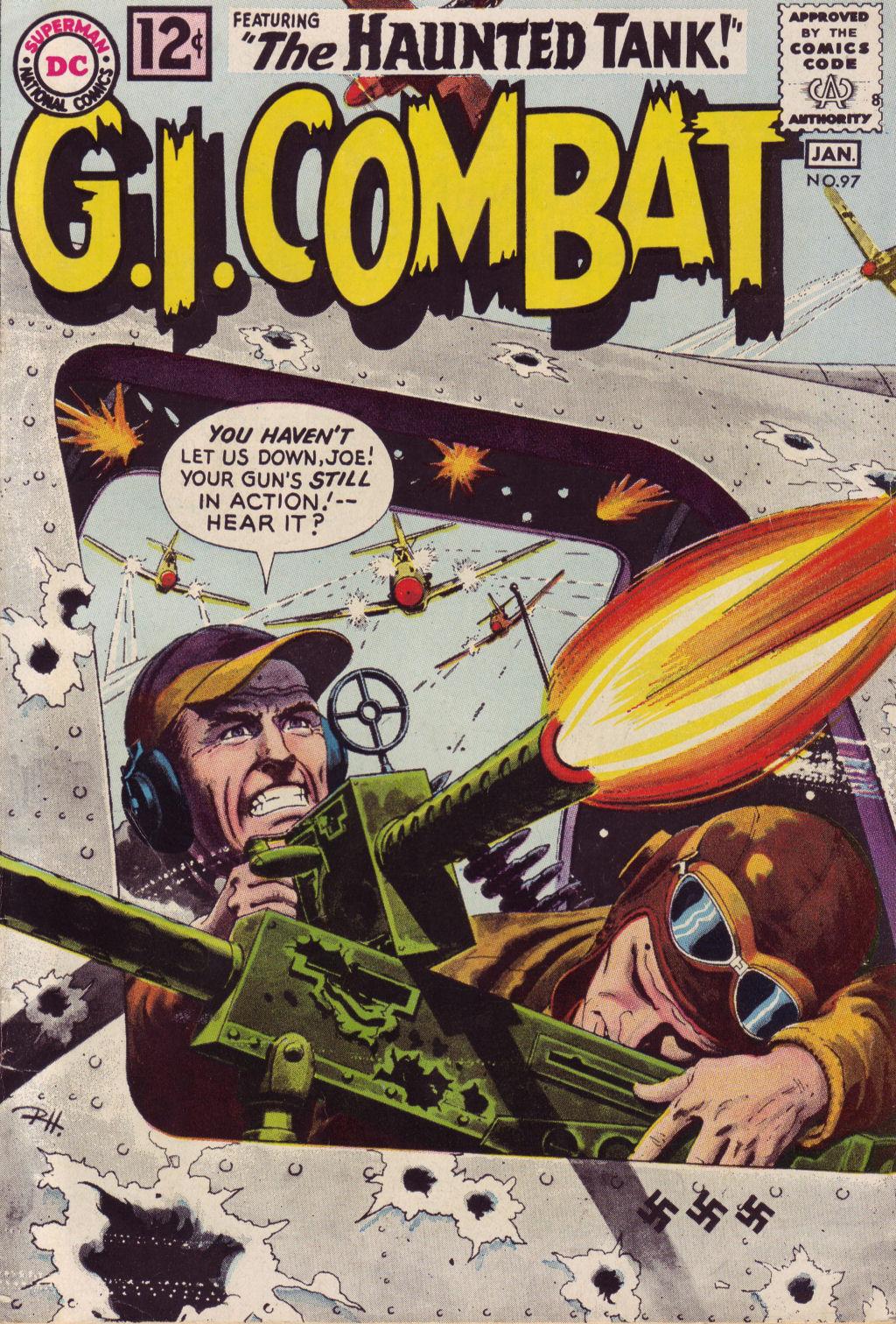 G.I. Combat (1952) 97 Page 1