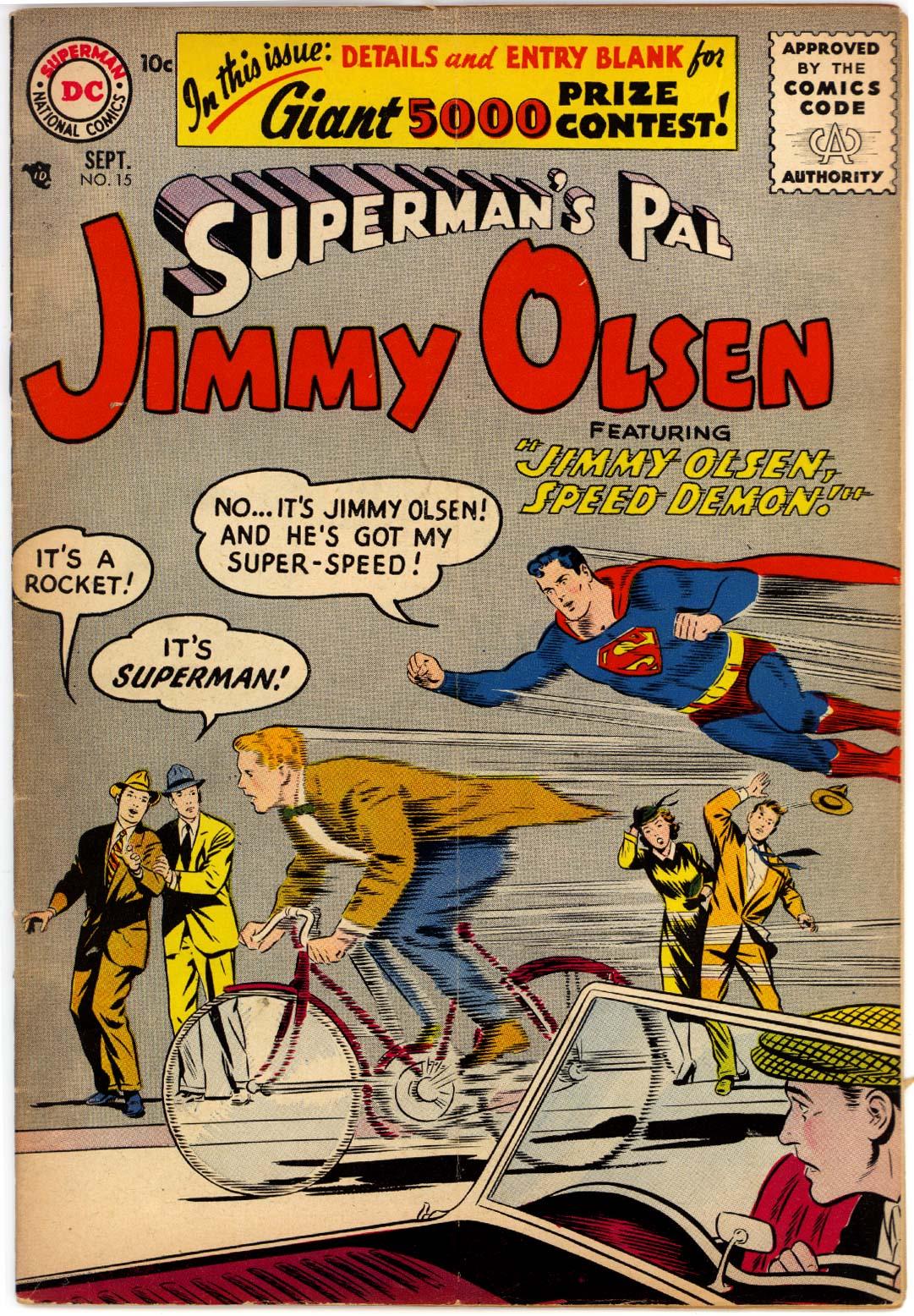 Supermans Pal Jimmy Olsen (1954) 15 Page 1
