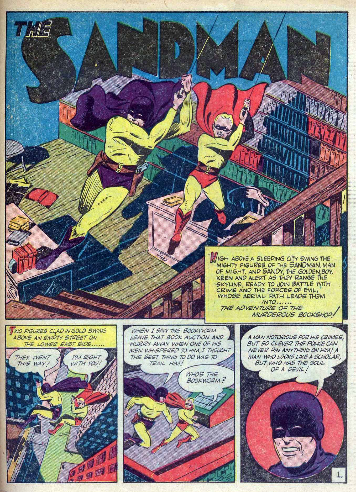 Read online Adventure Comics (1938) comic -  Issue #70 - 59