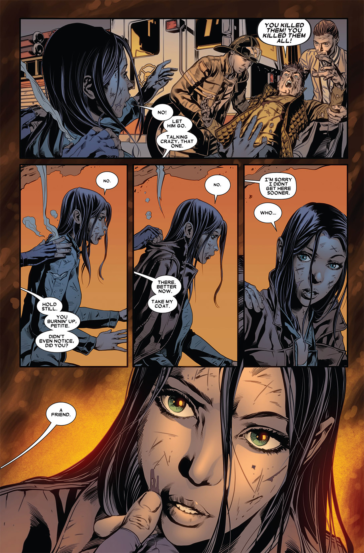 Read online X-23 (2010) comic -  Issue #2 - 9