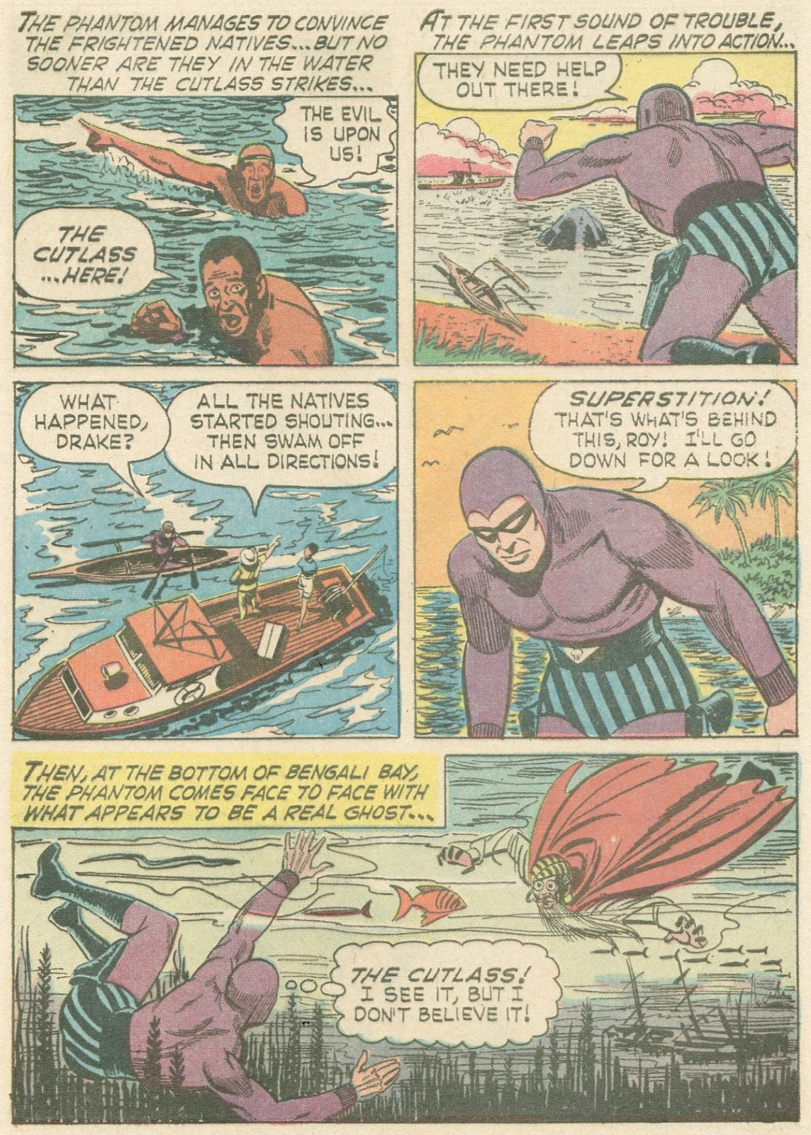 The Phantom (1966) issue 21 - Page 4