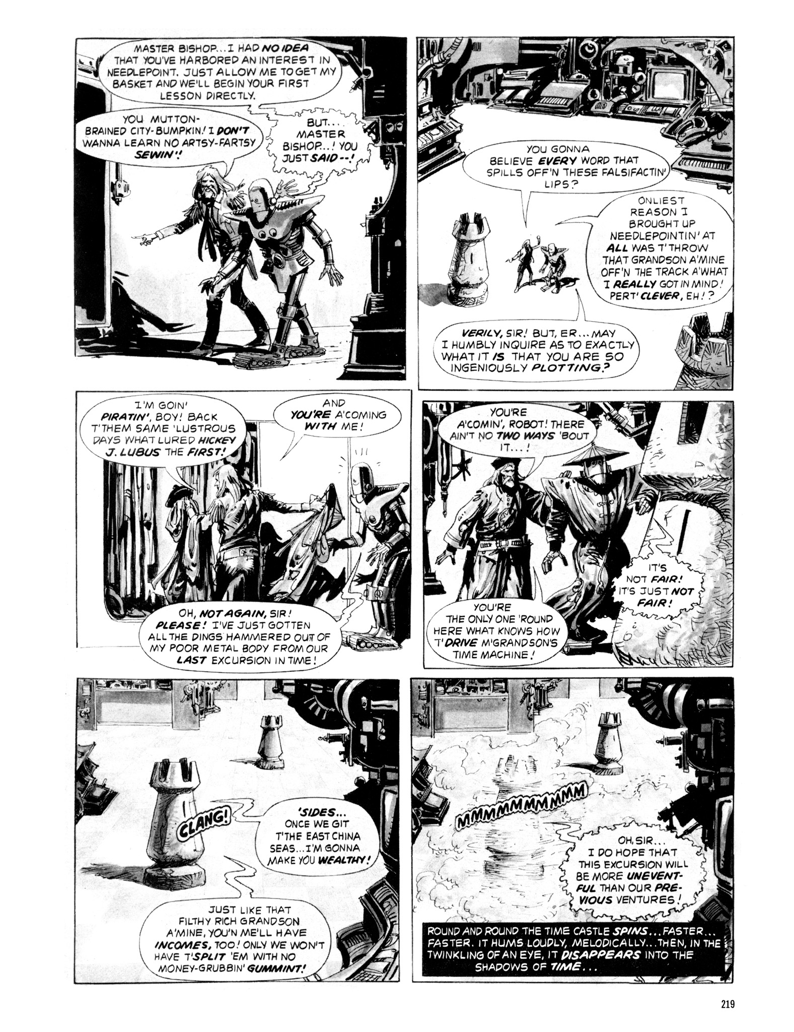 Read online Eerie Archives comic -  Issue # TPB 20 - 219