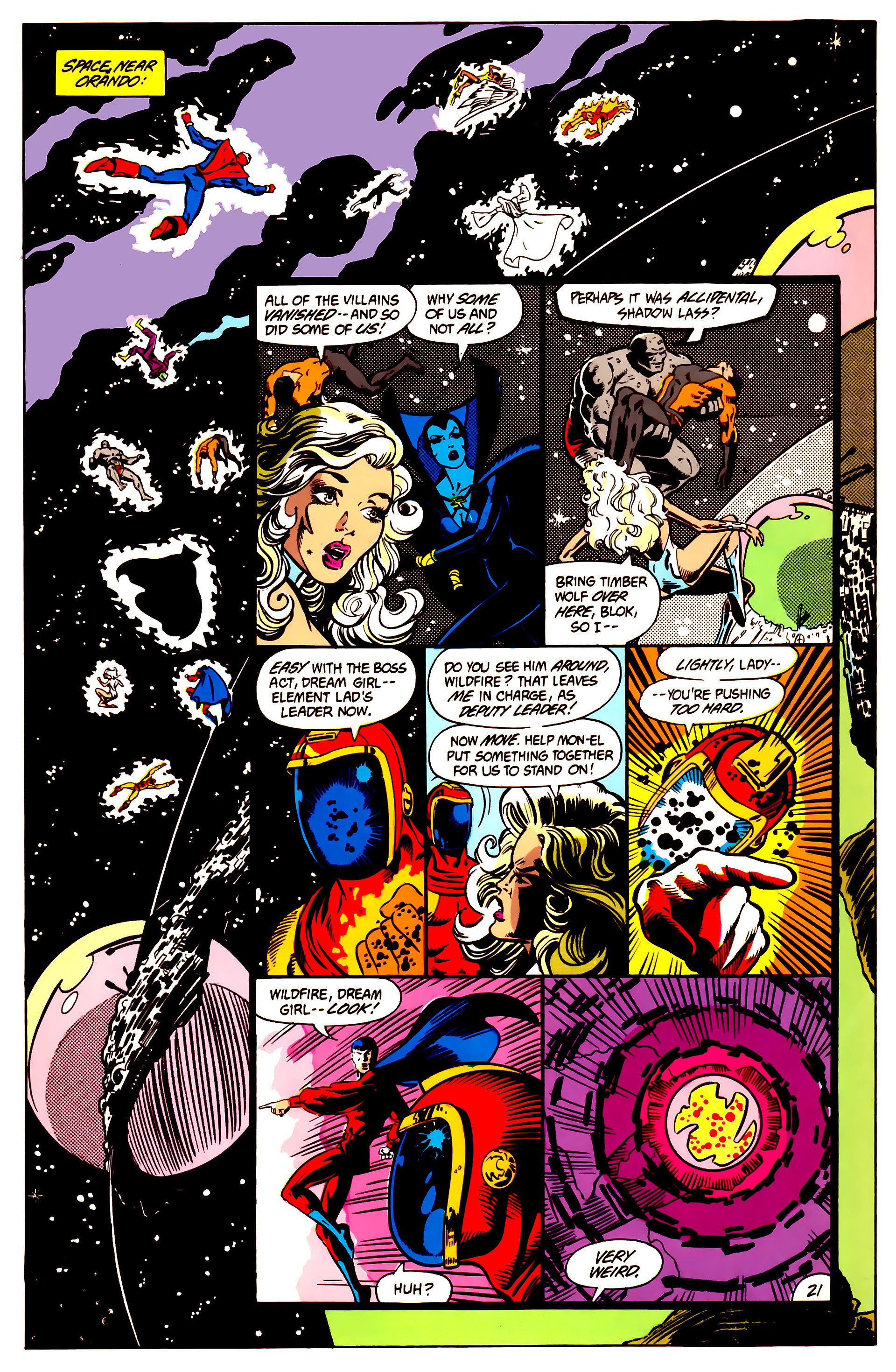 Legion of Super-Heroes (1984) 3 Page 22