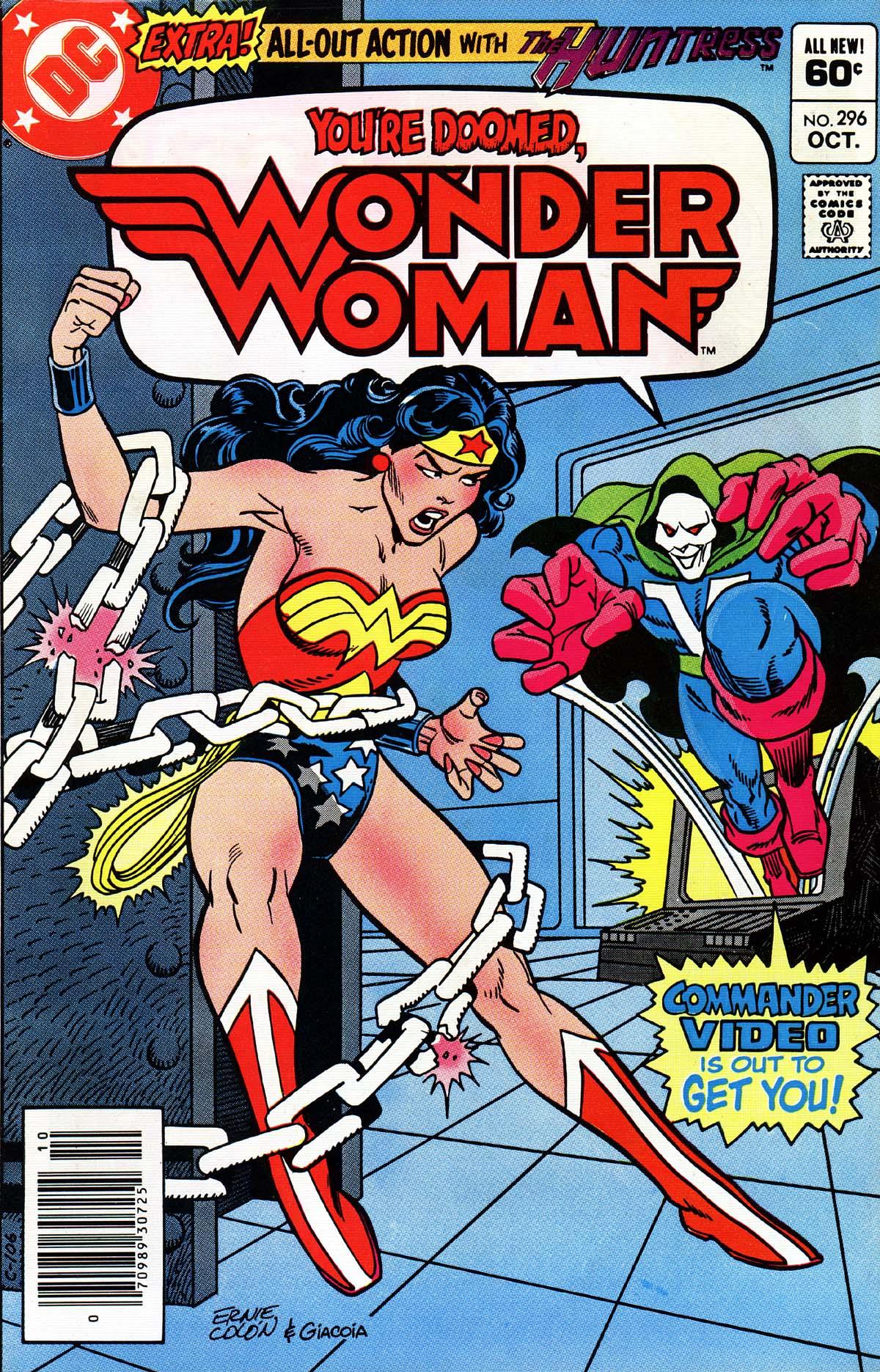 Read online Wonder Woman (1942) comic -  Issue #296 - 1