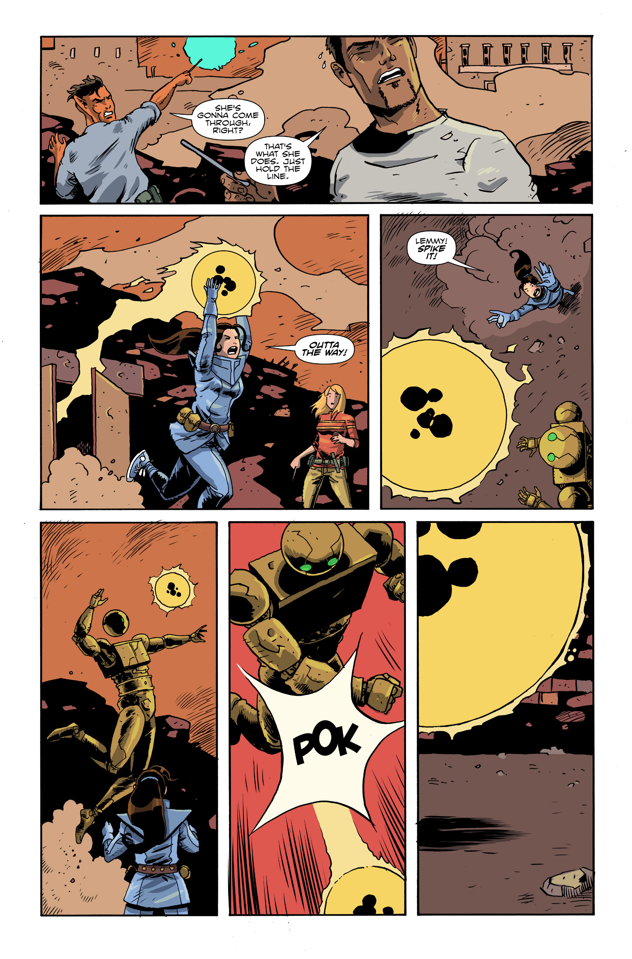 Read online Amelia Cole Versus The End of Everything comic -  Issue #26 - 9
