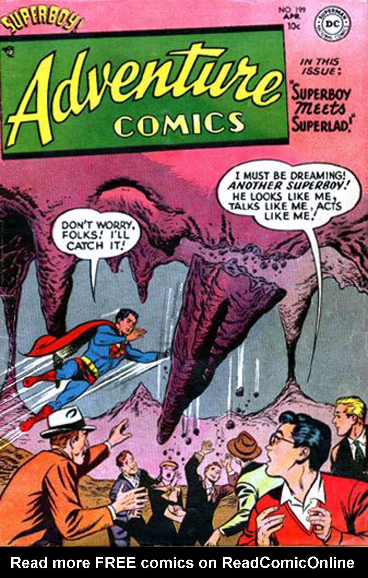 Read online Adventure Comics (1938) comic -  Issue #199 - 1