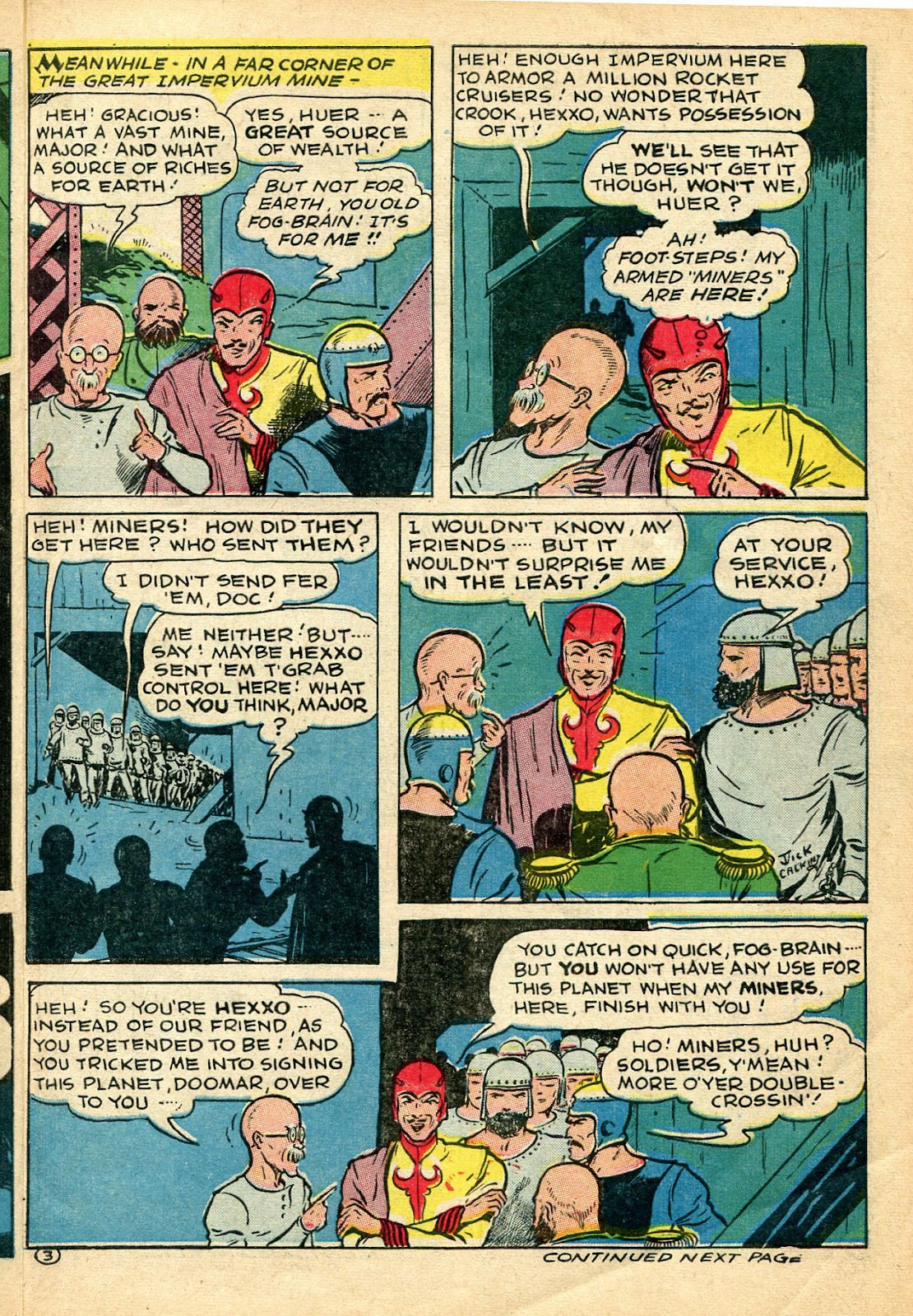Read online Famous Funnies comic -  Issue #110 - 3