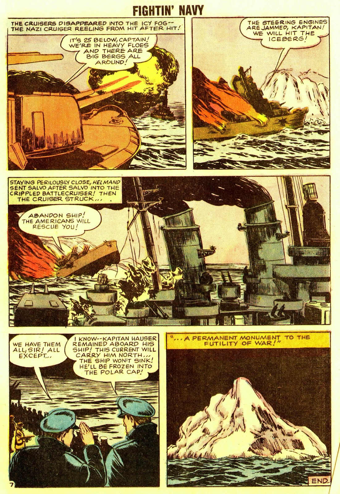 Read online Fightin' Navy comic -  Issue #83 - 81
