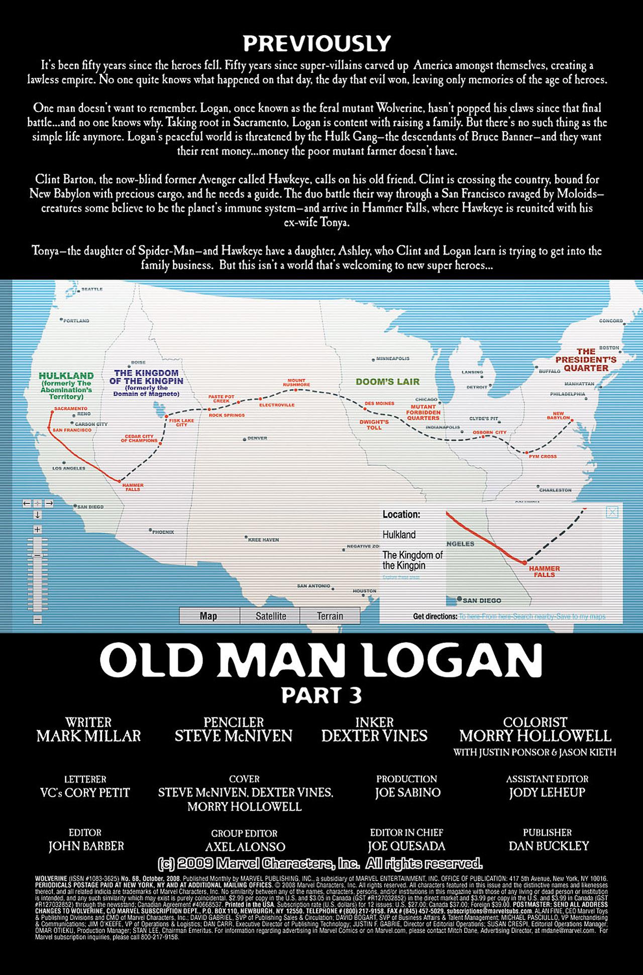 Read online Wolverine: Old Man Logan comic -  Issue # Full - 49
