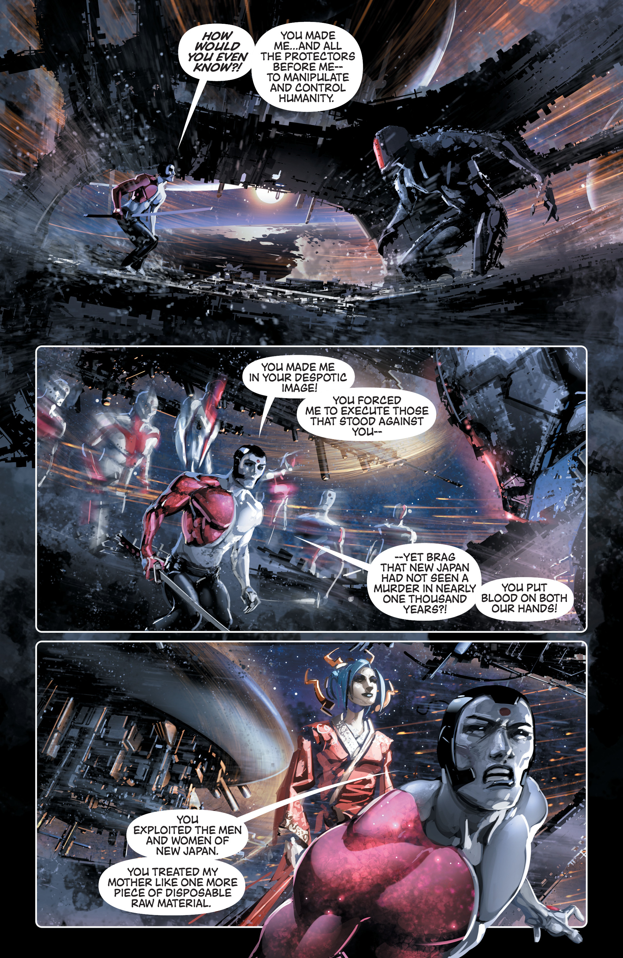 Read online 4001 A.D. comic -  Issue #4 - 7