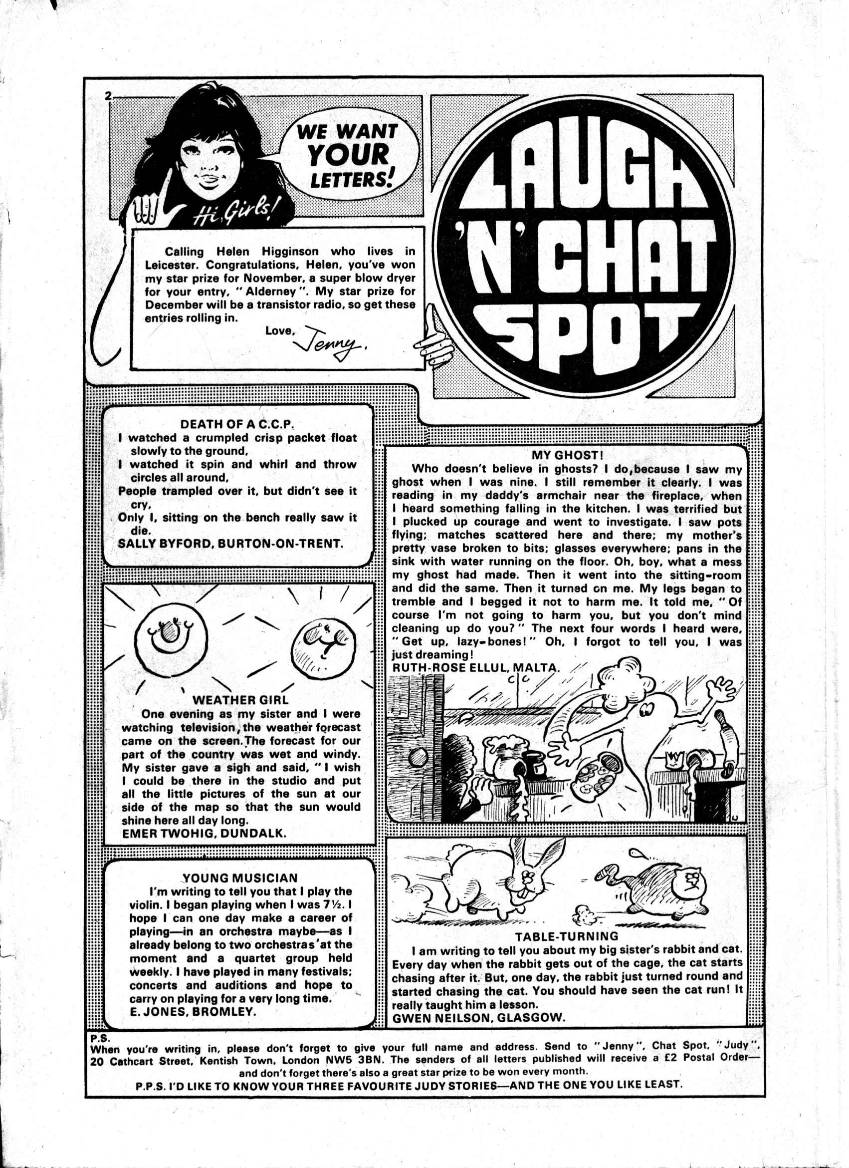 Read online Judy comic -  Issue #985 - 2
