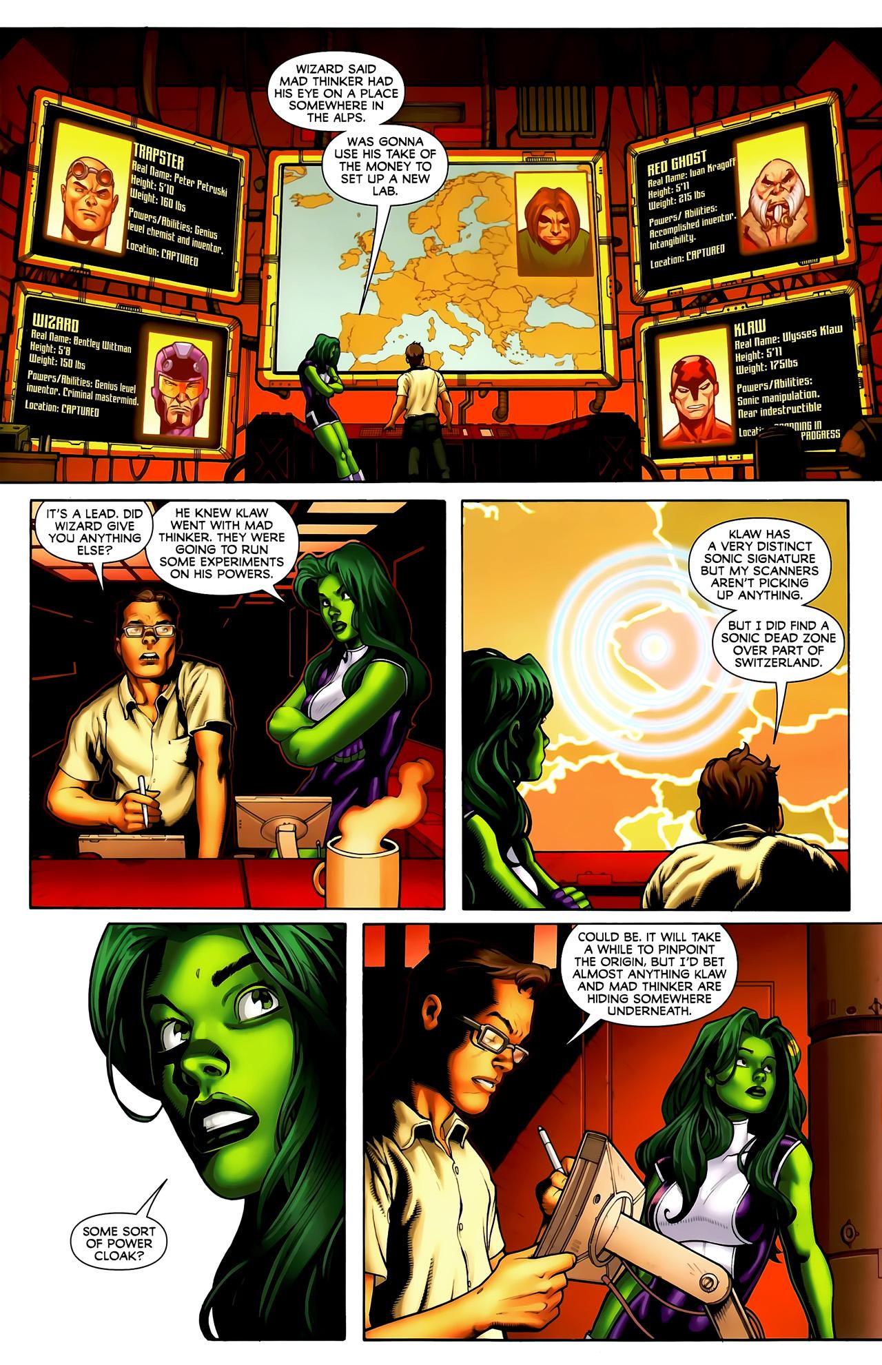 Read online She-Hulks comic -  Issue #3 - 9