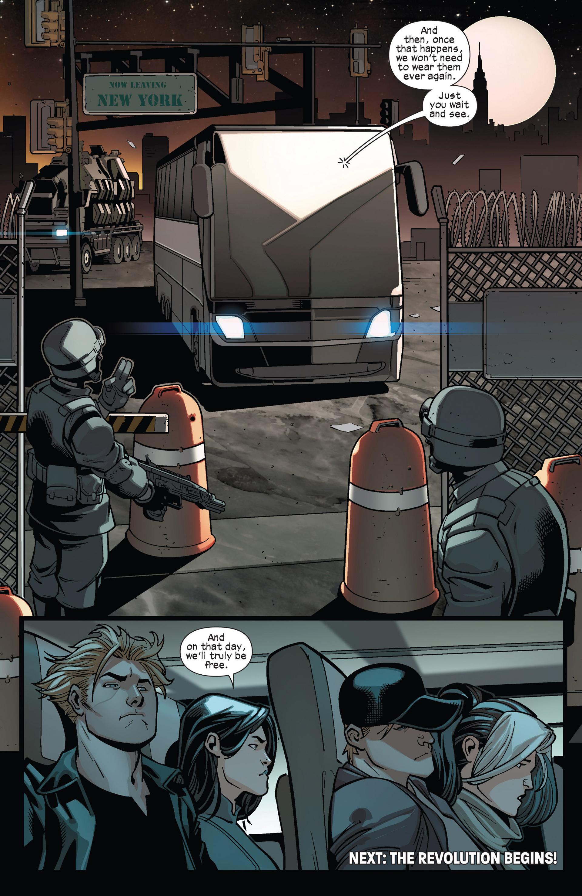Read online Ultimate Comics X-Men comic -  Issue #13 - 21