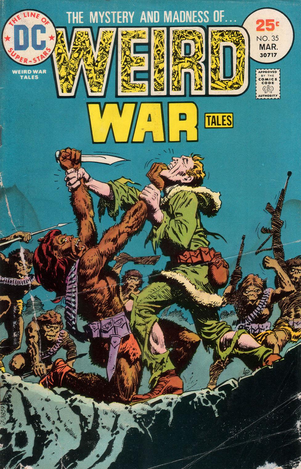 Weird War Tales (1971) issue 35 - Page 1